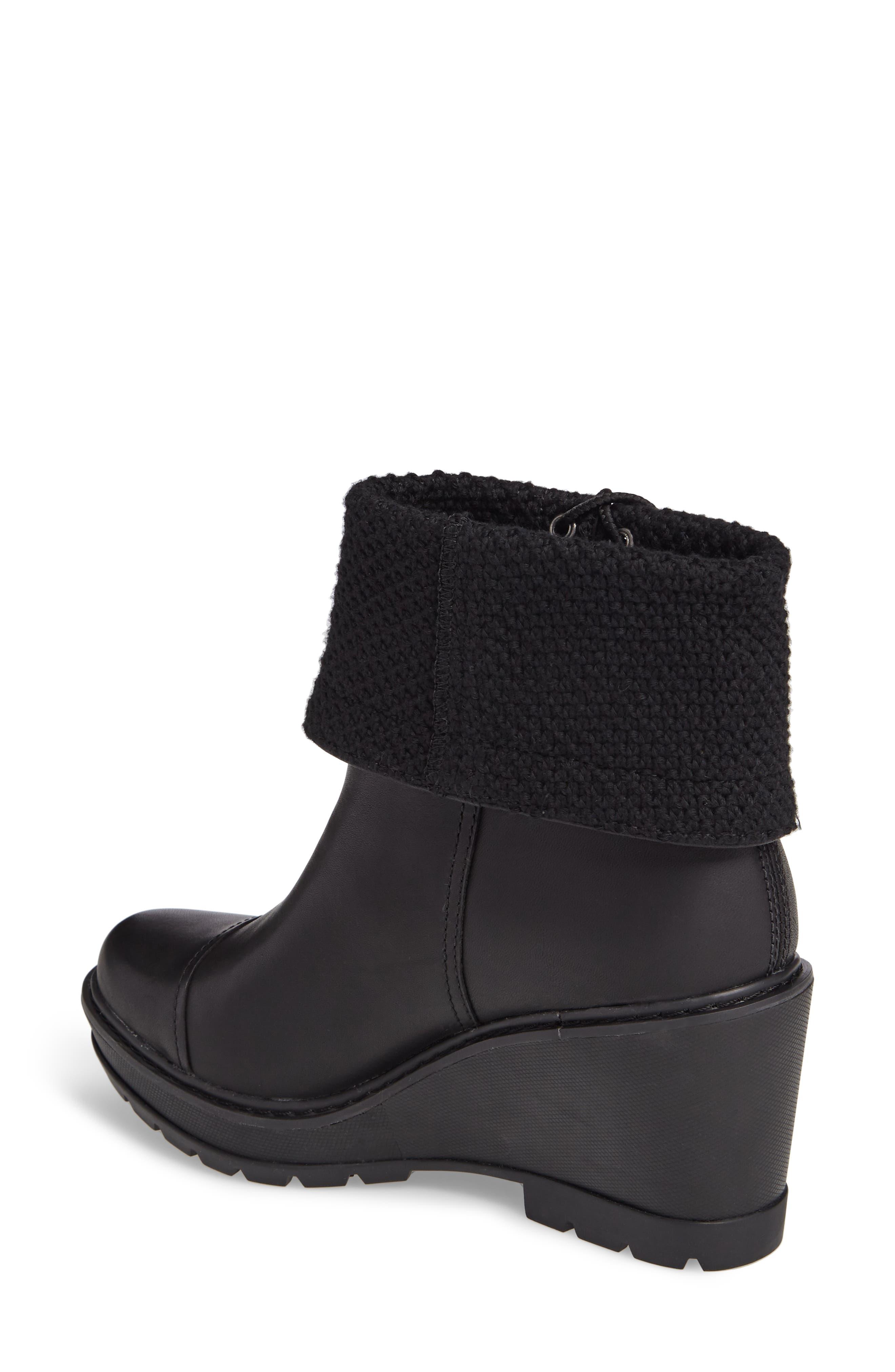 Kellis Fold Down Water Resistant Boot,                             Alternate thumbnail 2, color,                             001