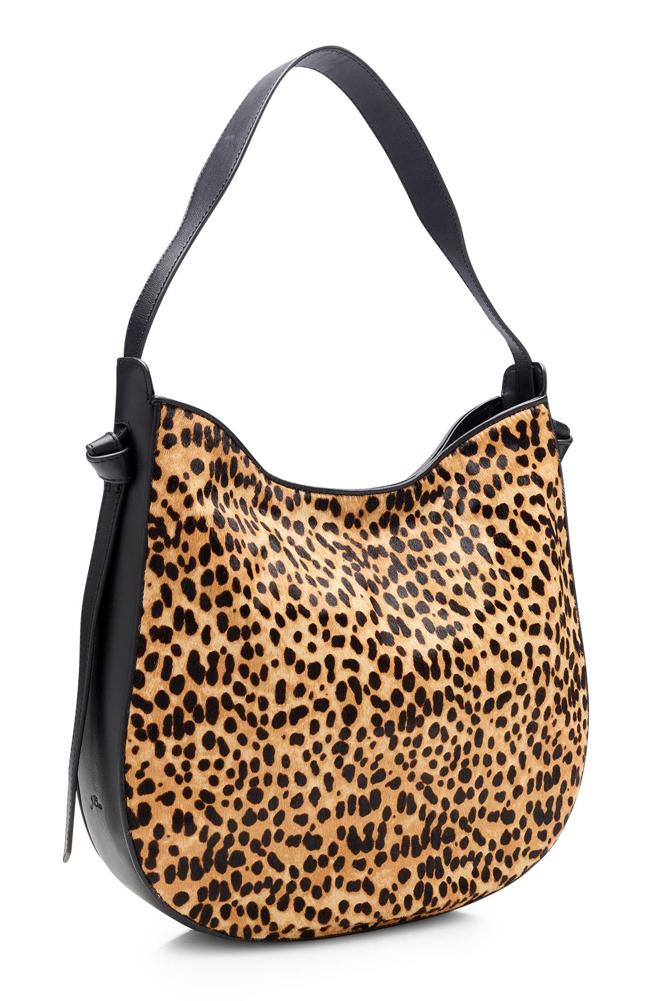 Genuine Calf Hair Hobo,                             Alternate thumbnail 2, color,                             SAHARA BROWN