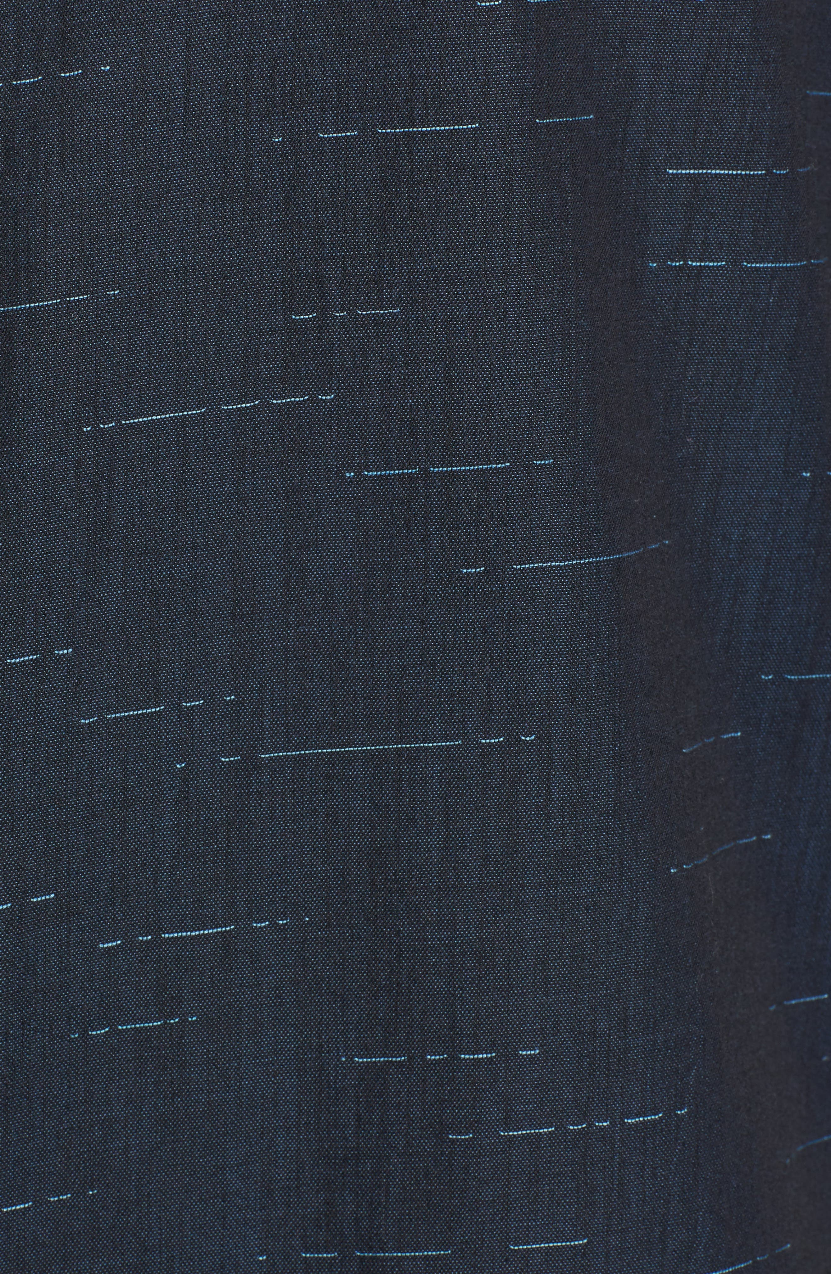 Tait Trim Fit Print Sport Shirt,                             Alternate thumbnail 5, color,                             497