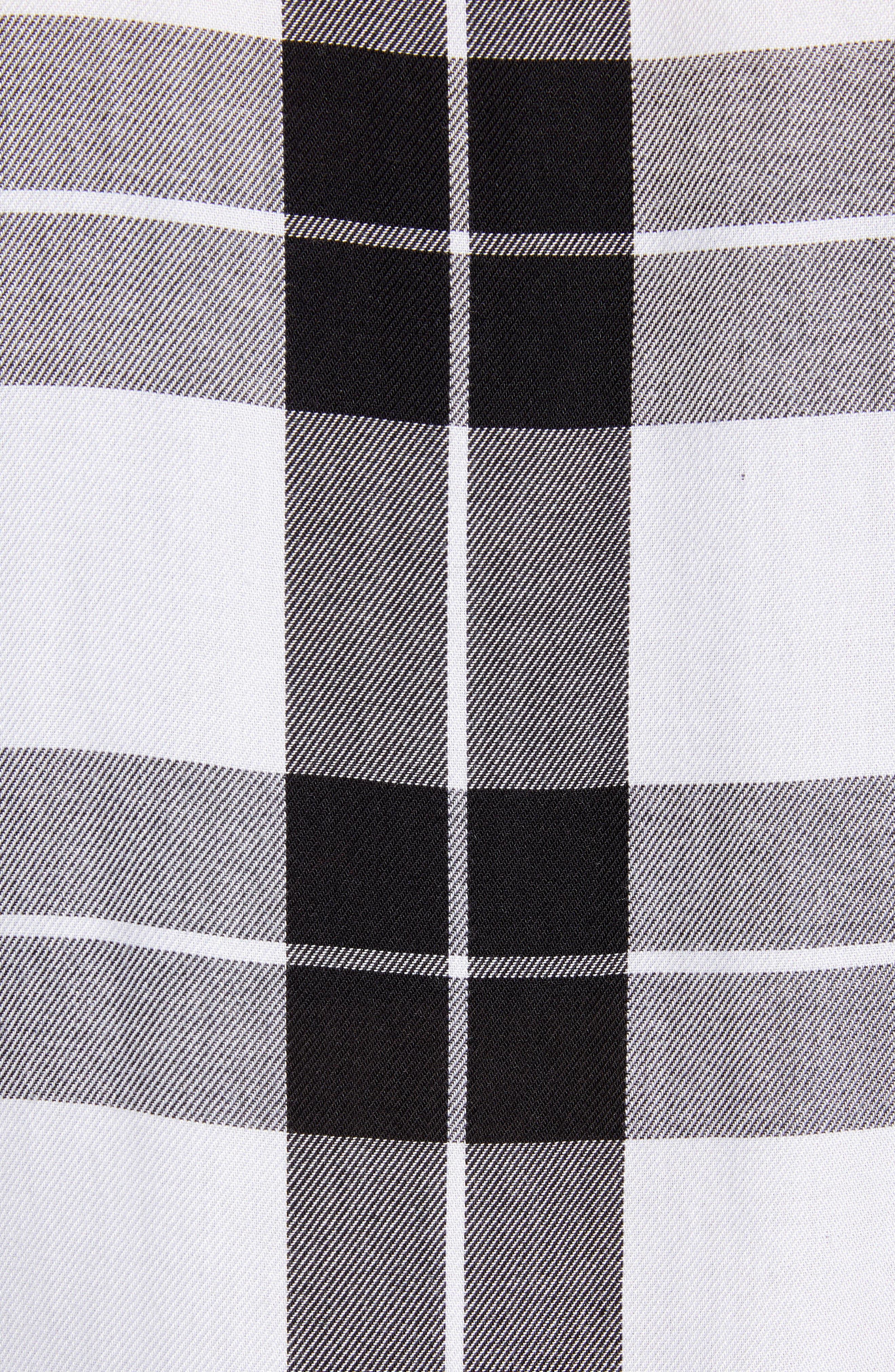 Classic Plaid Shirt,                             Alternate thumbnail 5, color,                             001