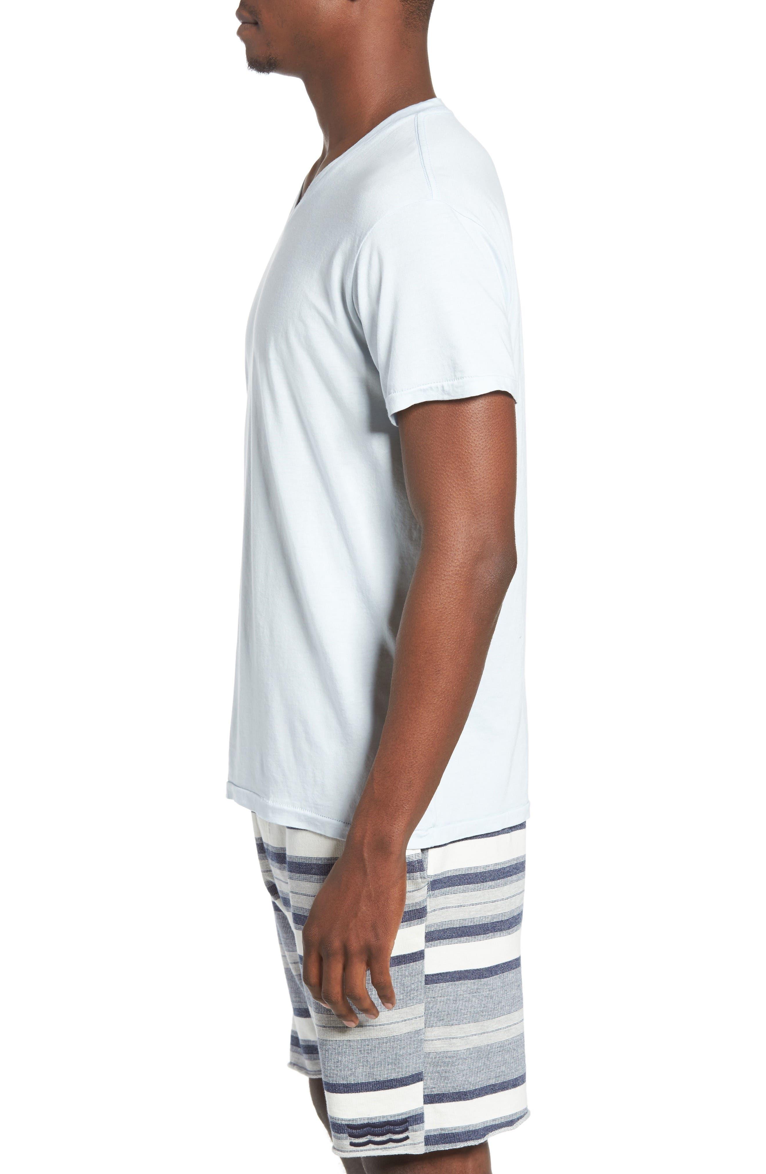 Essential V-Neck T-Shirt,                             Alternate thumbnail 29, color,