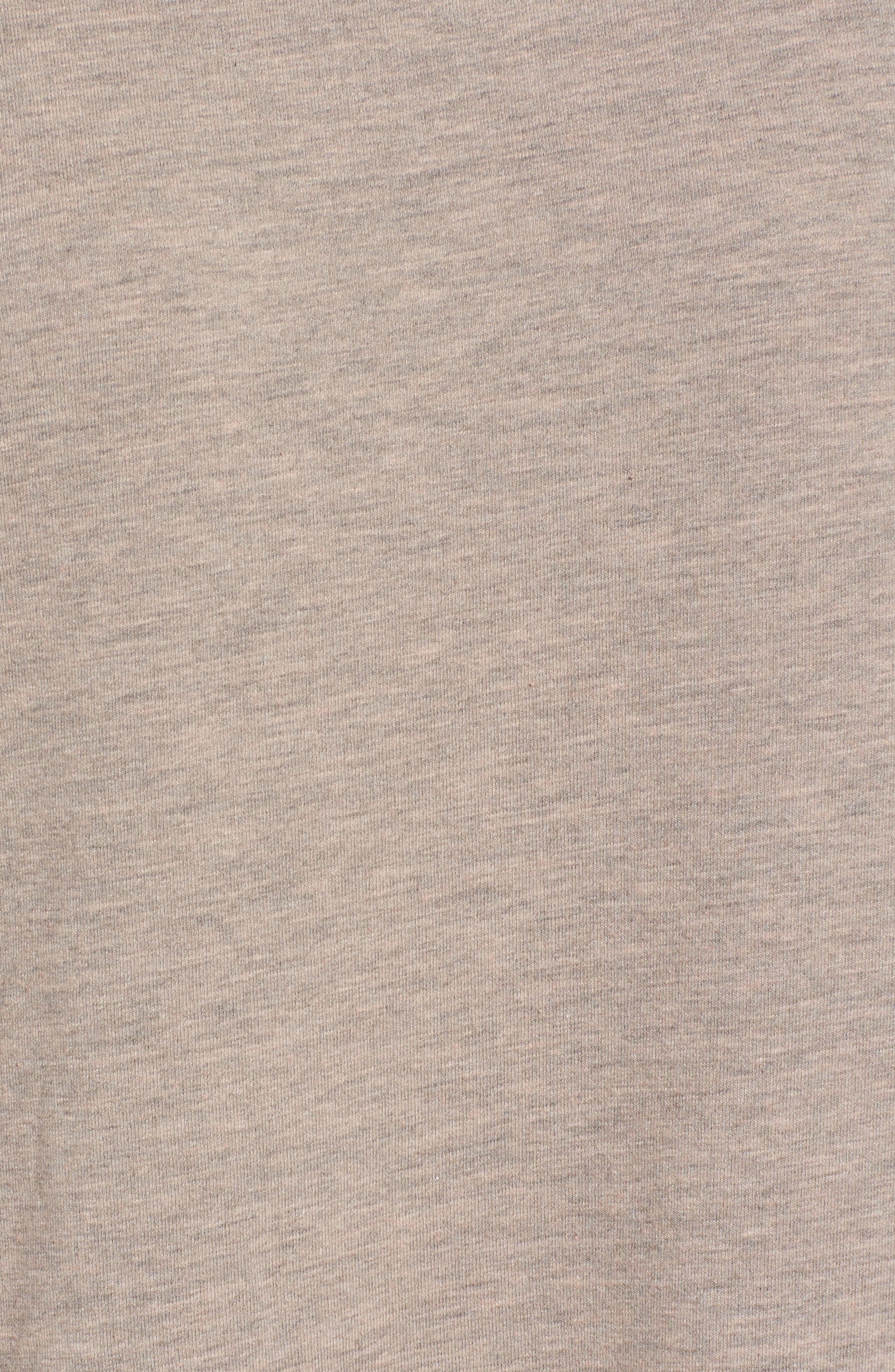 Low Back Sweatshirt Dress,                             Alternate thumbnail 5, color,                             650