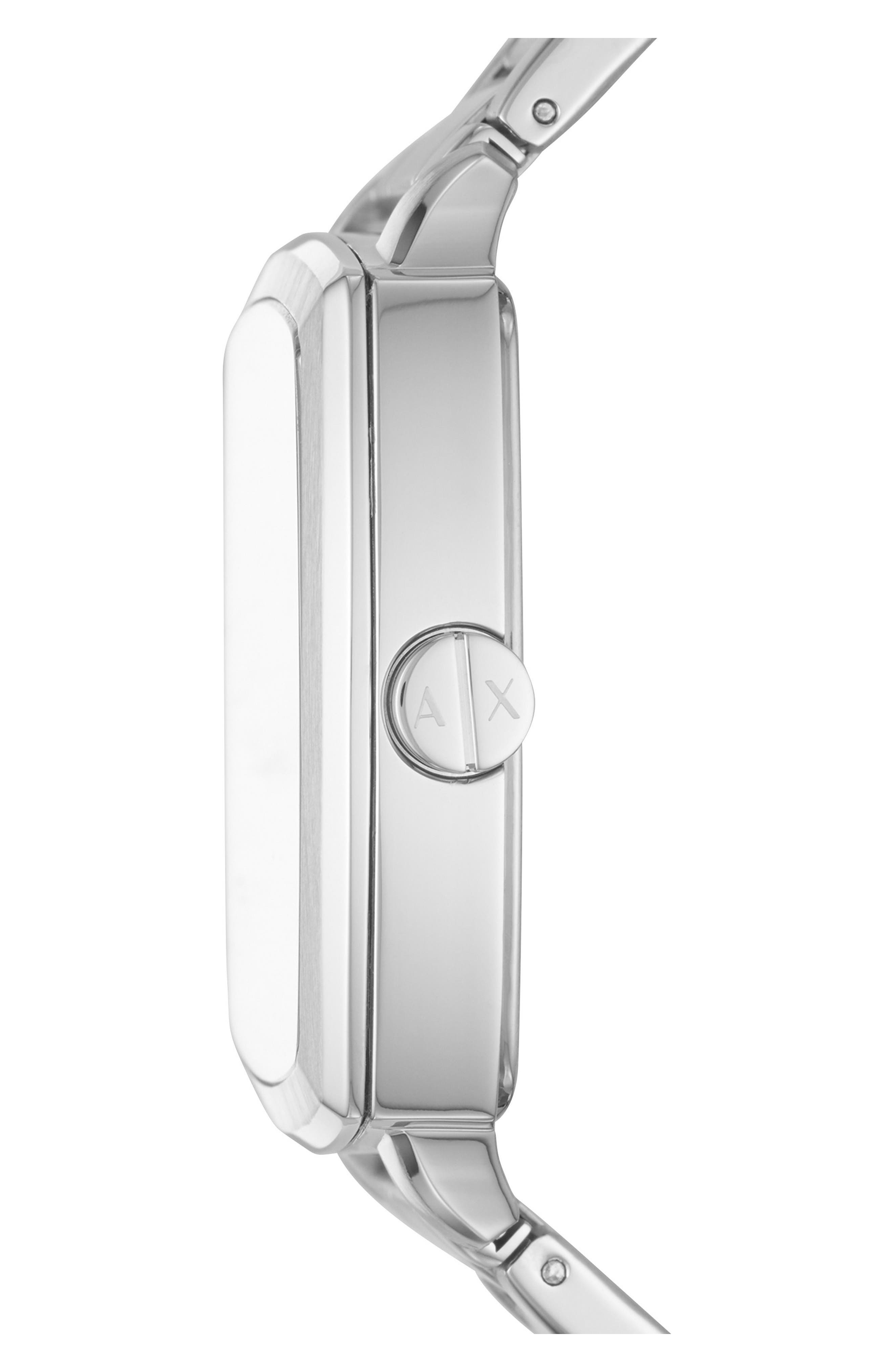 Square Bracelet Watch, 40mm,                             Alternate thumbnail 2, color,                             041