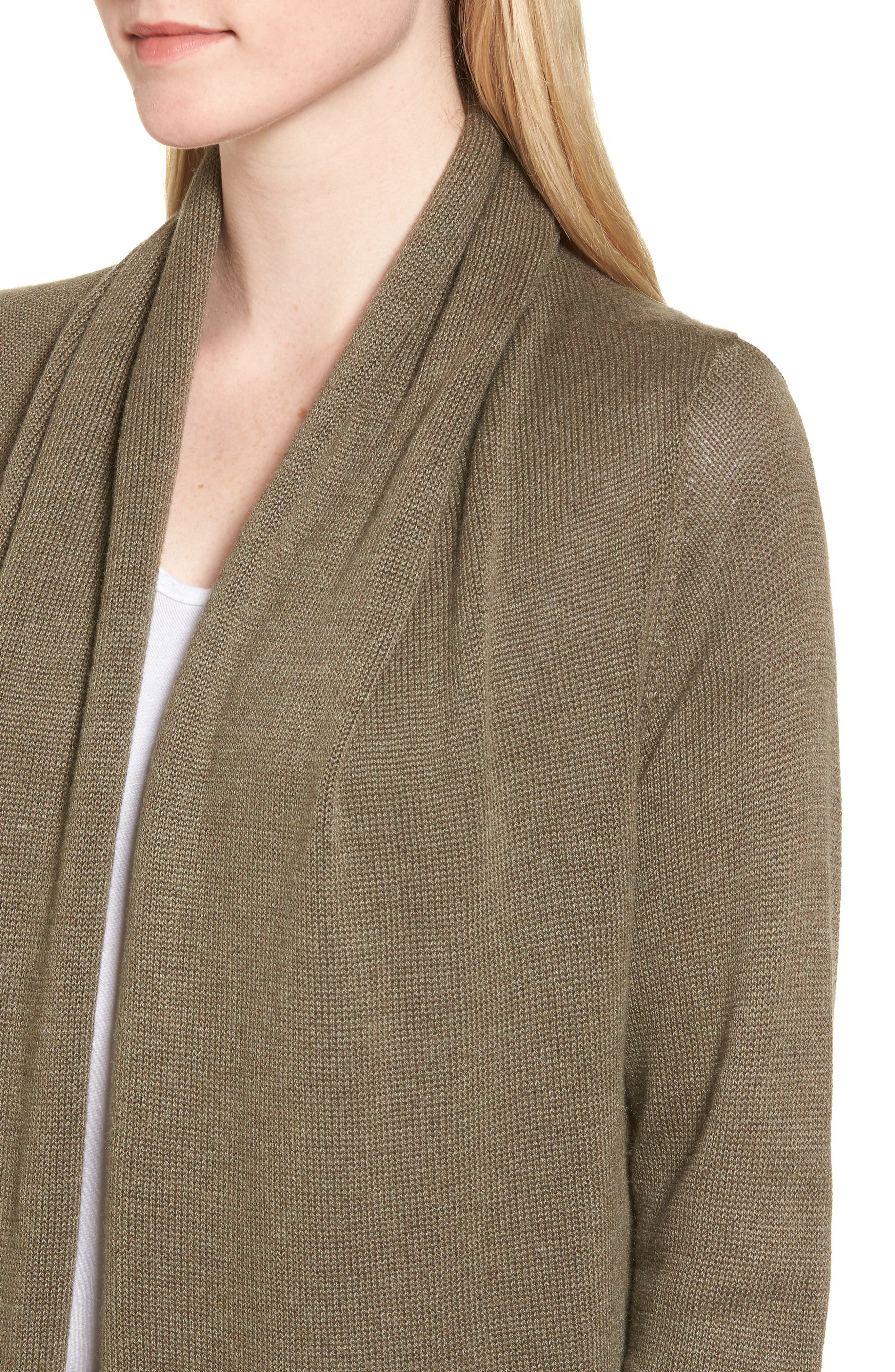 Easy Circle Cardigan,                             Alternate thumbnail 42, color,
