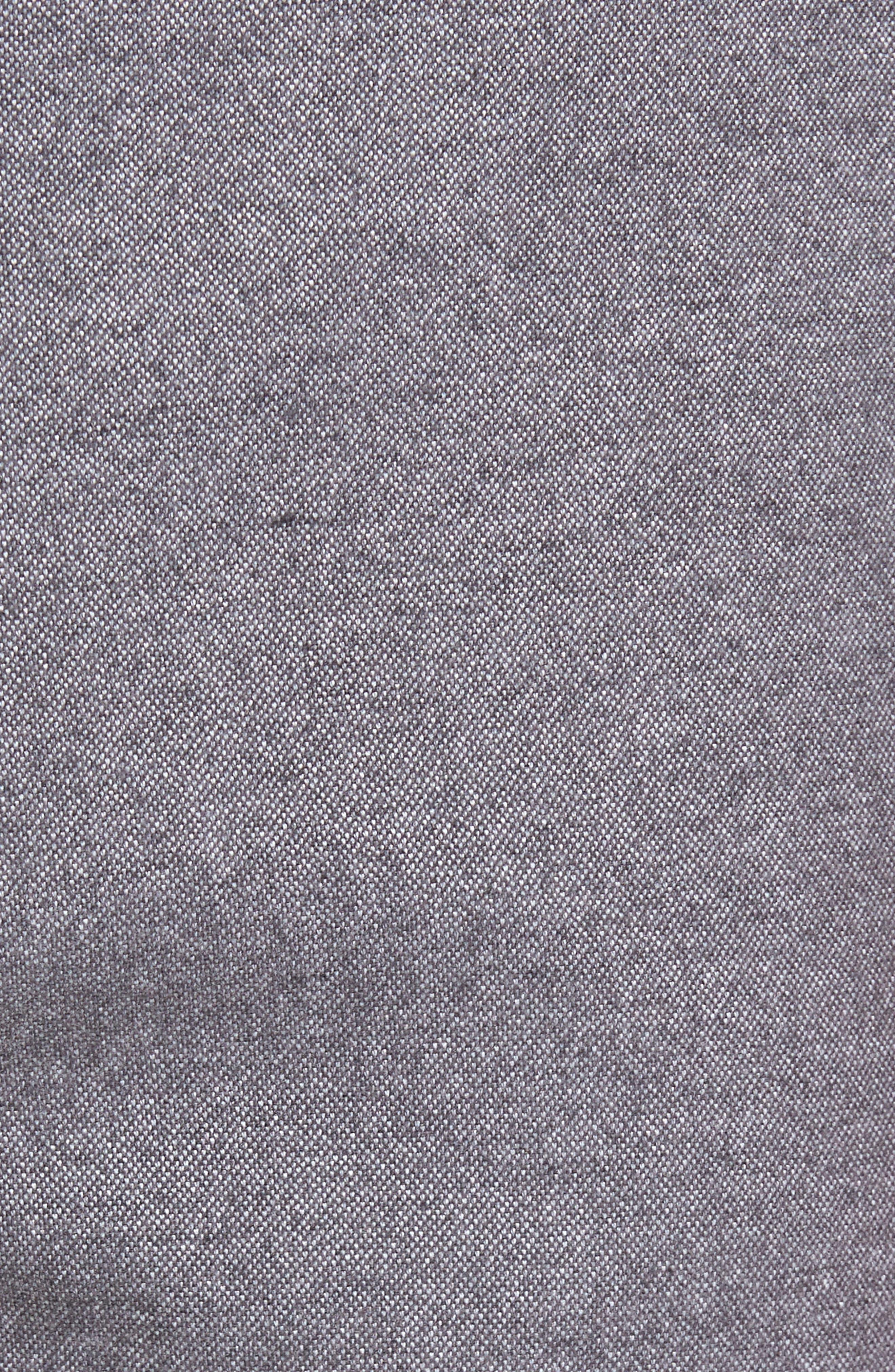Straight Fit Oxford Burgee Pants,                             Alternate thumbnail 5, color,                             020
