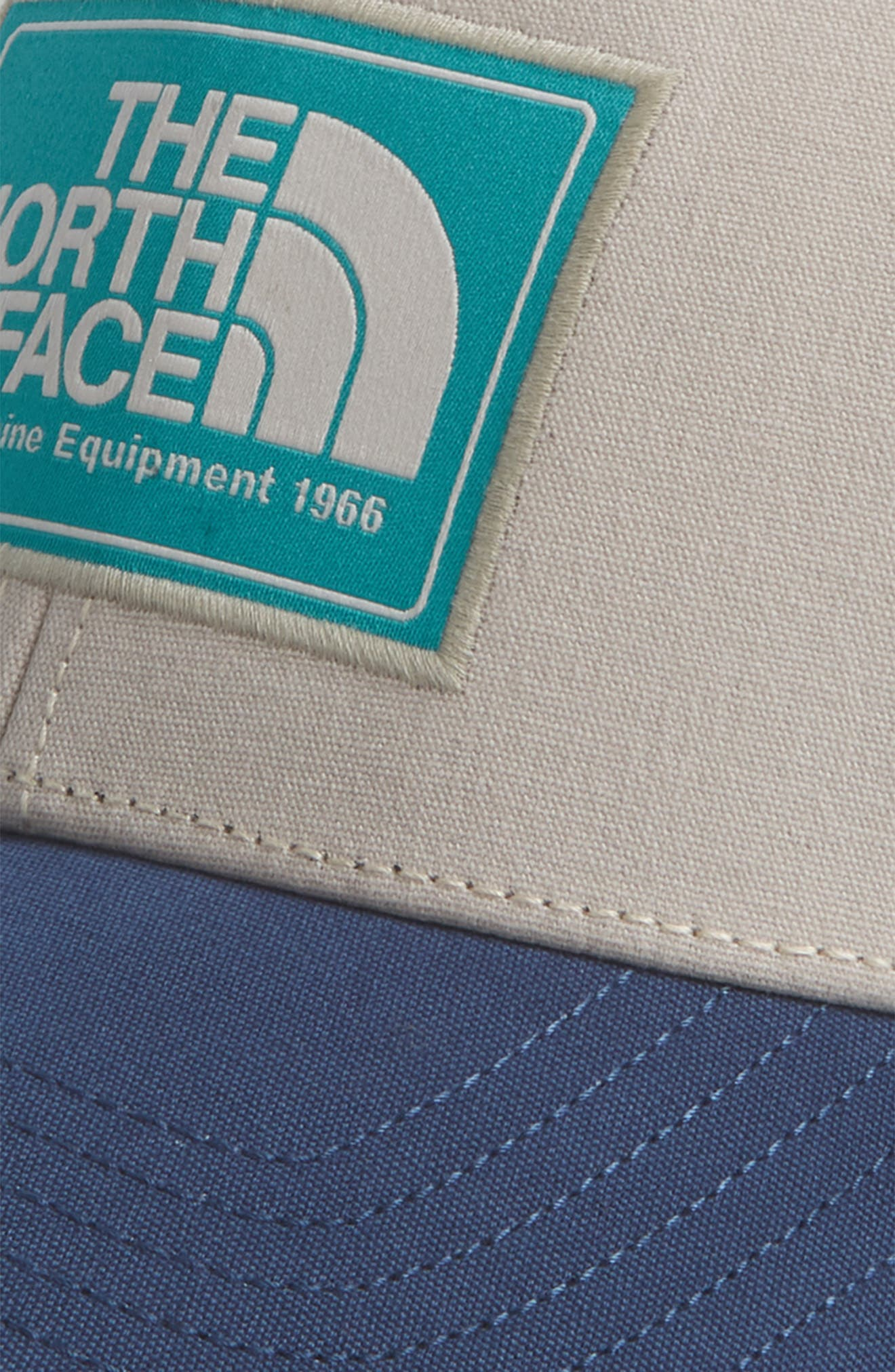 Mudder Trucker Hat,                             Alternate thumbnail 3, color,                             BEIGE/ BLUE/ GREEN