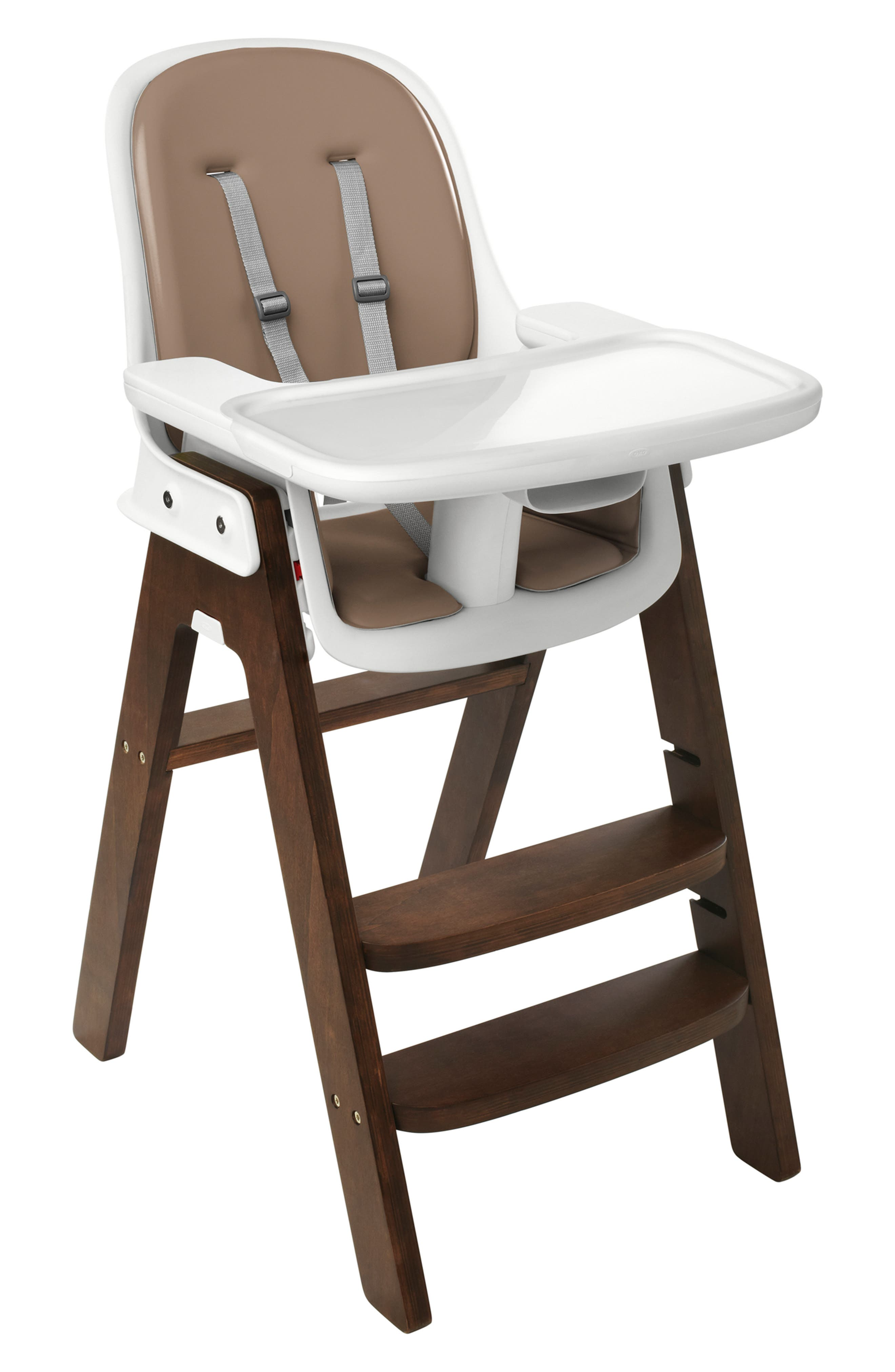 'Sprout' Chair,                             Main thumbnail 1, color,                             GRAY/ WALNUT