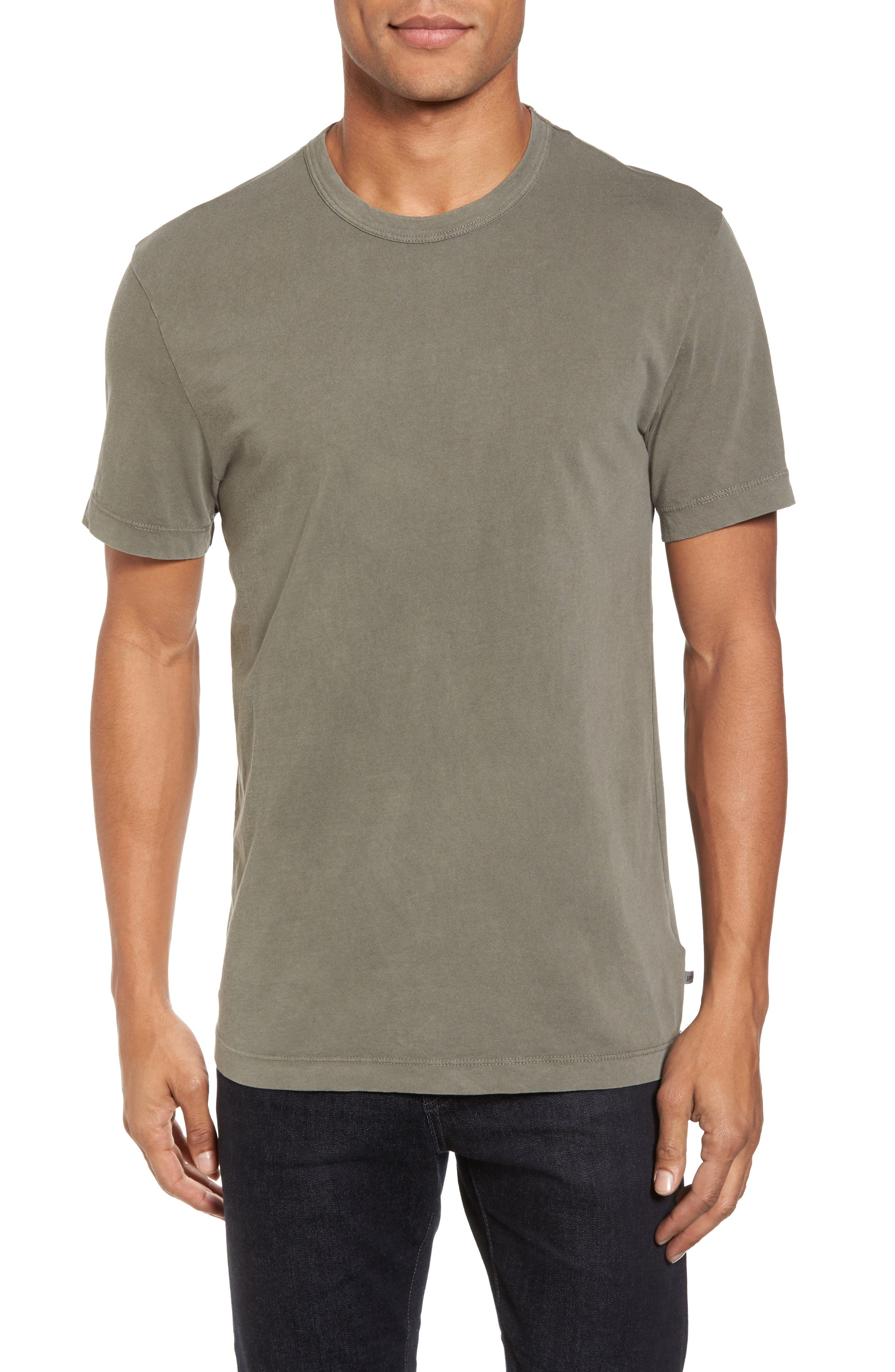 Crewneck Jersey T-Shirt,                             Alternate thumbnail 121, color,