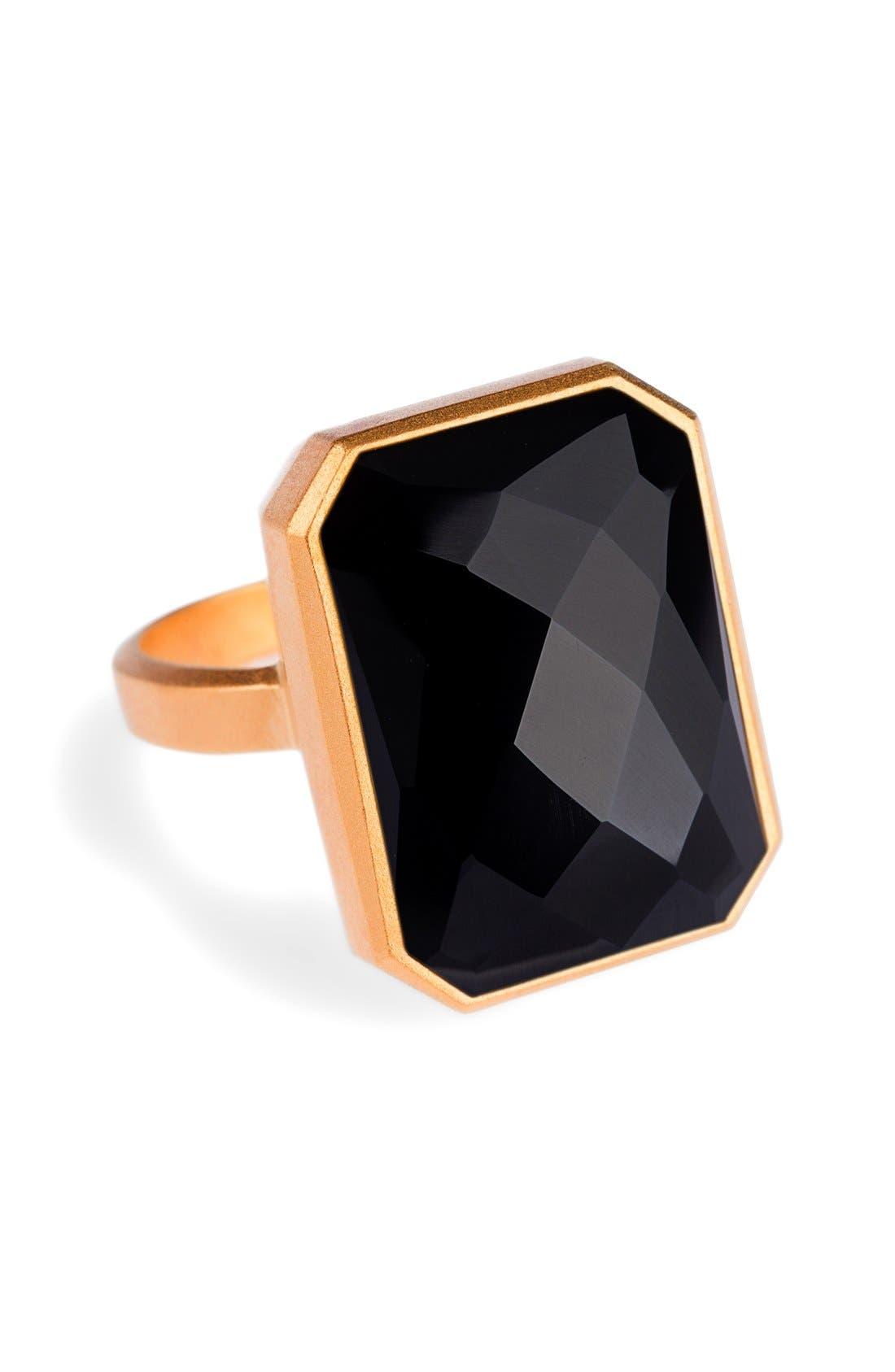 RINGLY,                             Bluetooth<sup>®</sup> Smart Ring,                             Main thumbnail 1, color,                             001
