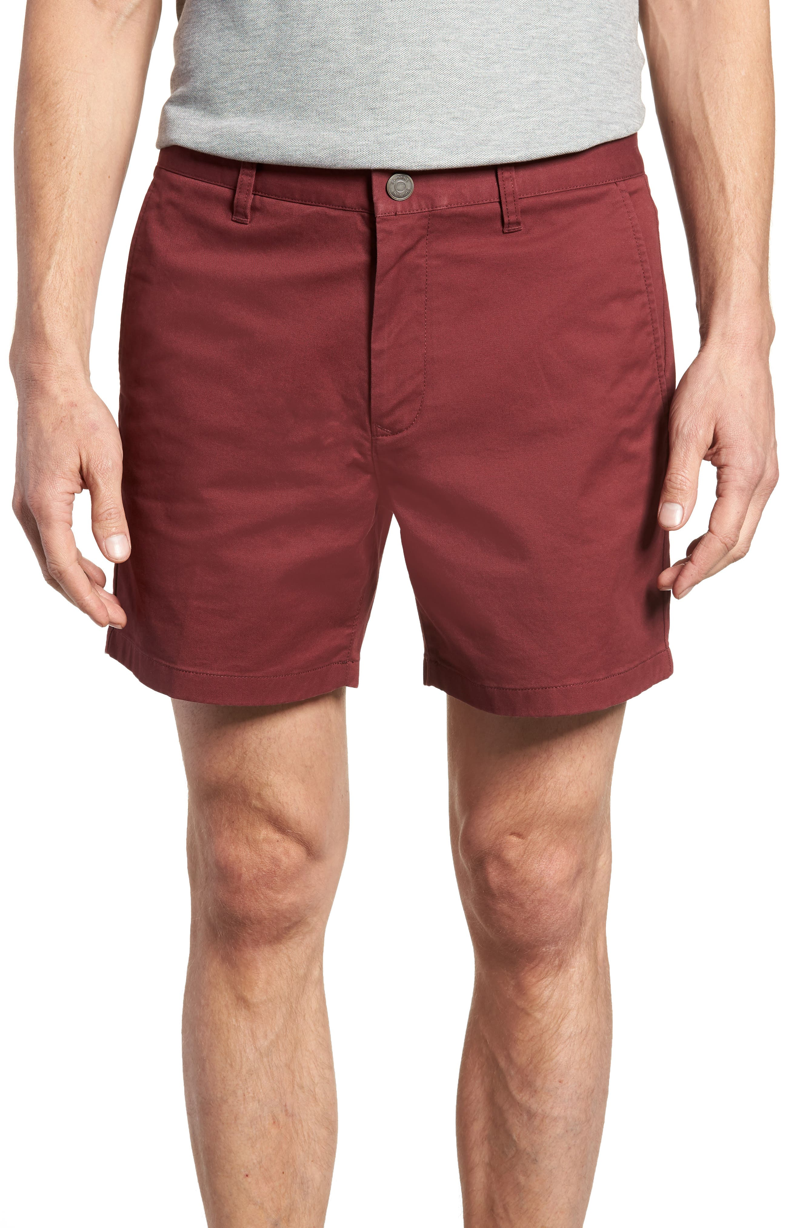 Stretch Washed Chino 5-Inch Shorts,                             Main thumbnail 16, color,