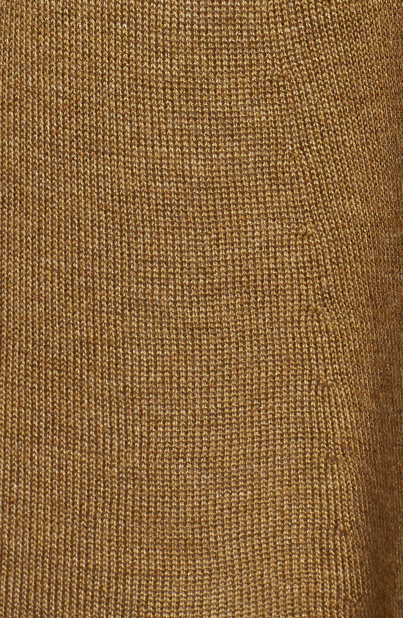 Tencel<sup>®</sup> Lyocell & Merino Wool Shaped Cardigan,                             Alternate thumbnail 25, color,