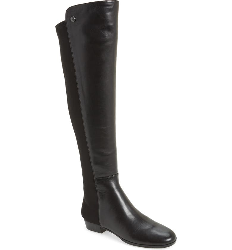 40eb1003d53 Women'S Karita Leather Over-The-Knee Boots in Black