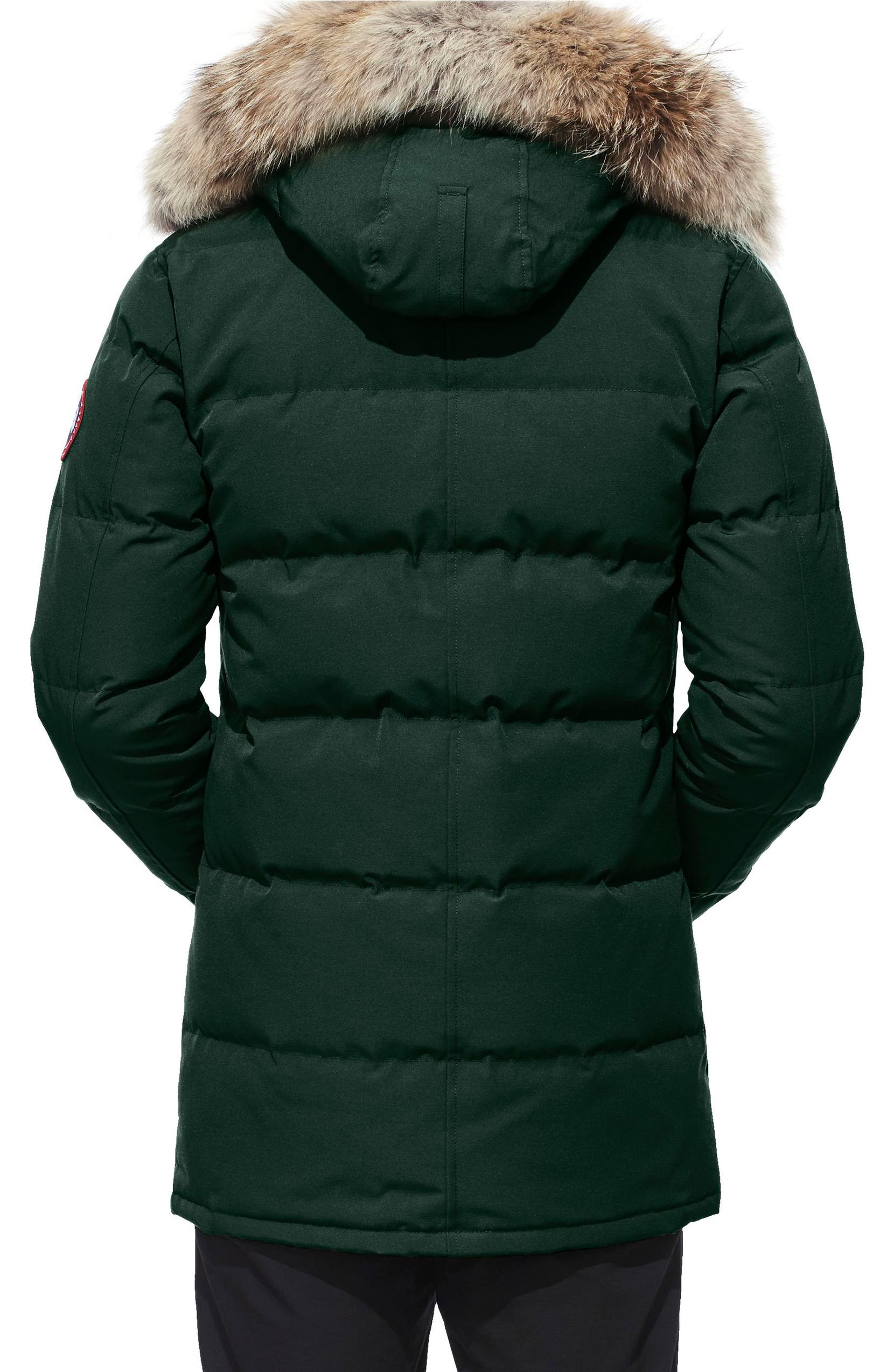 Canada Goose  Carson  Slim Fit Hooded Packable Parka with Genuine Coyote  Fur Trim  1eee6d52b0f5