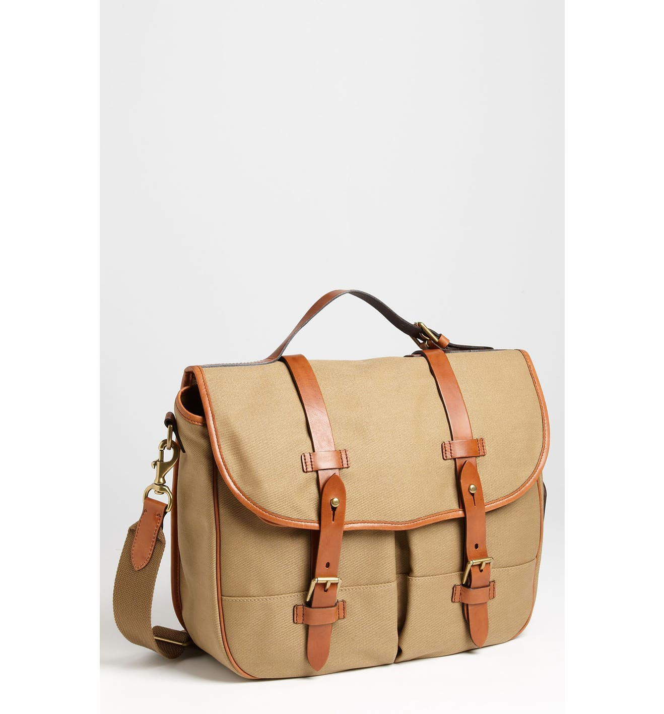 37e529104c56 Polo Ralph Lauren Canvas Messenger Bag