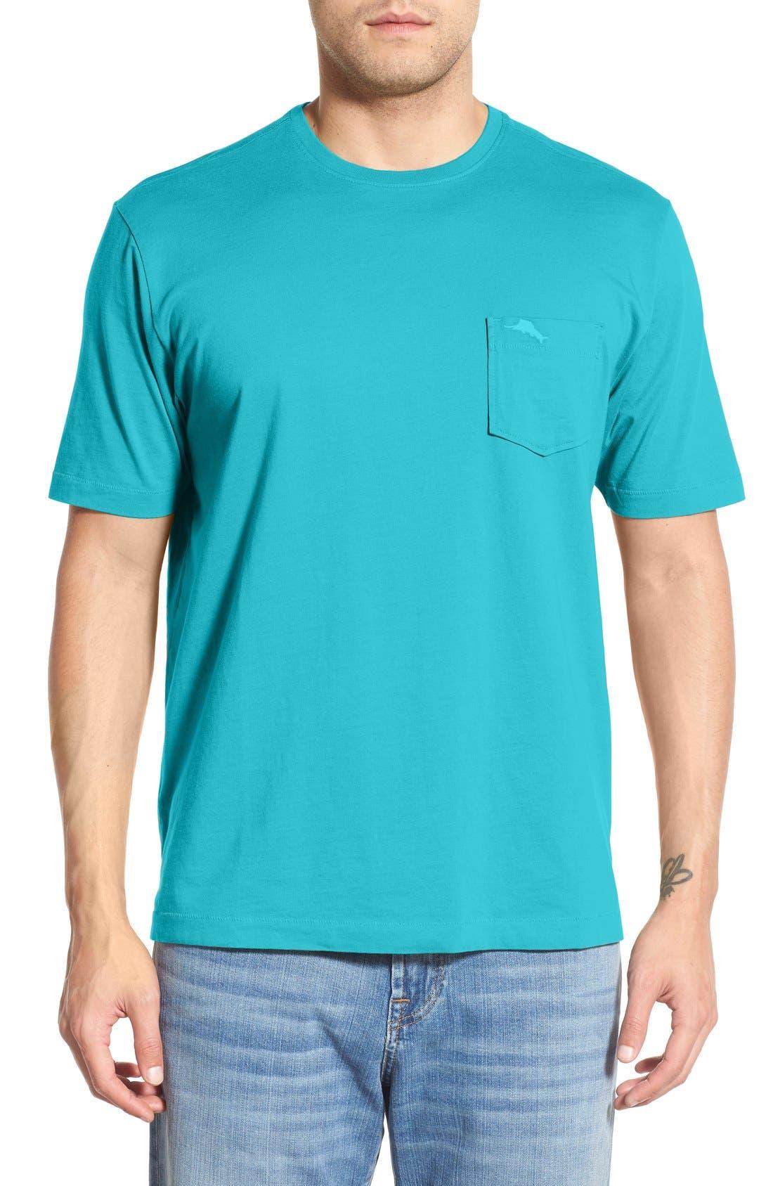 New Bali Sky Pima Cotton Pocket T-Shirt,                             Main thumbnail 29, color,