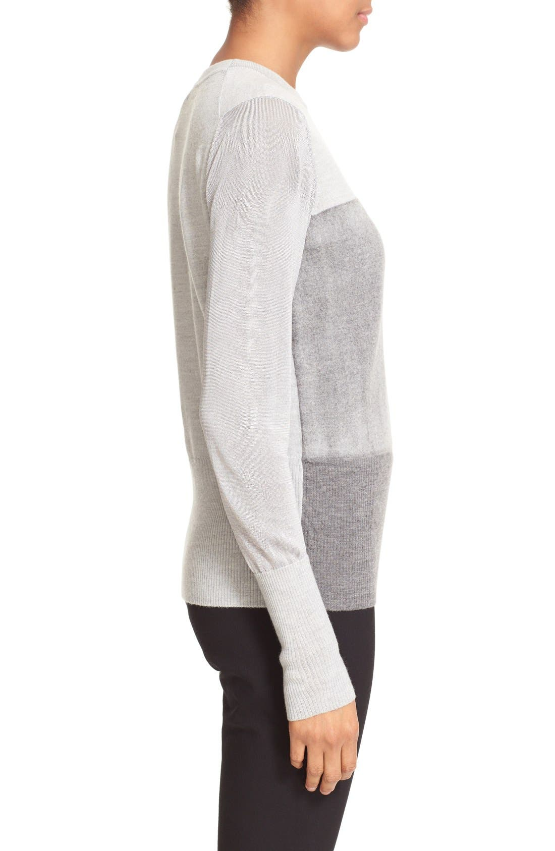 RAG & BONE,                             'Marissa' Merino Wool Crewneck Sweater,                             Alternate thumbnail 2, color,                             020