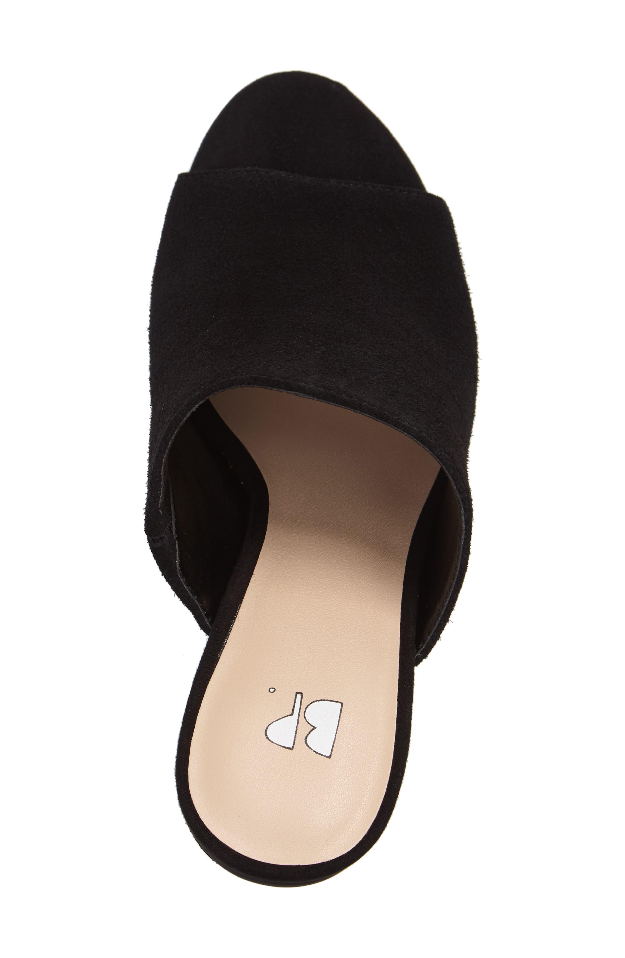 BP.,                             Tale Block Heel Sandal,                             Alternate thumbnail 3, color,                             001