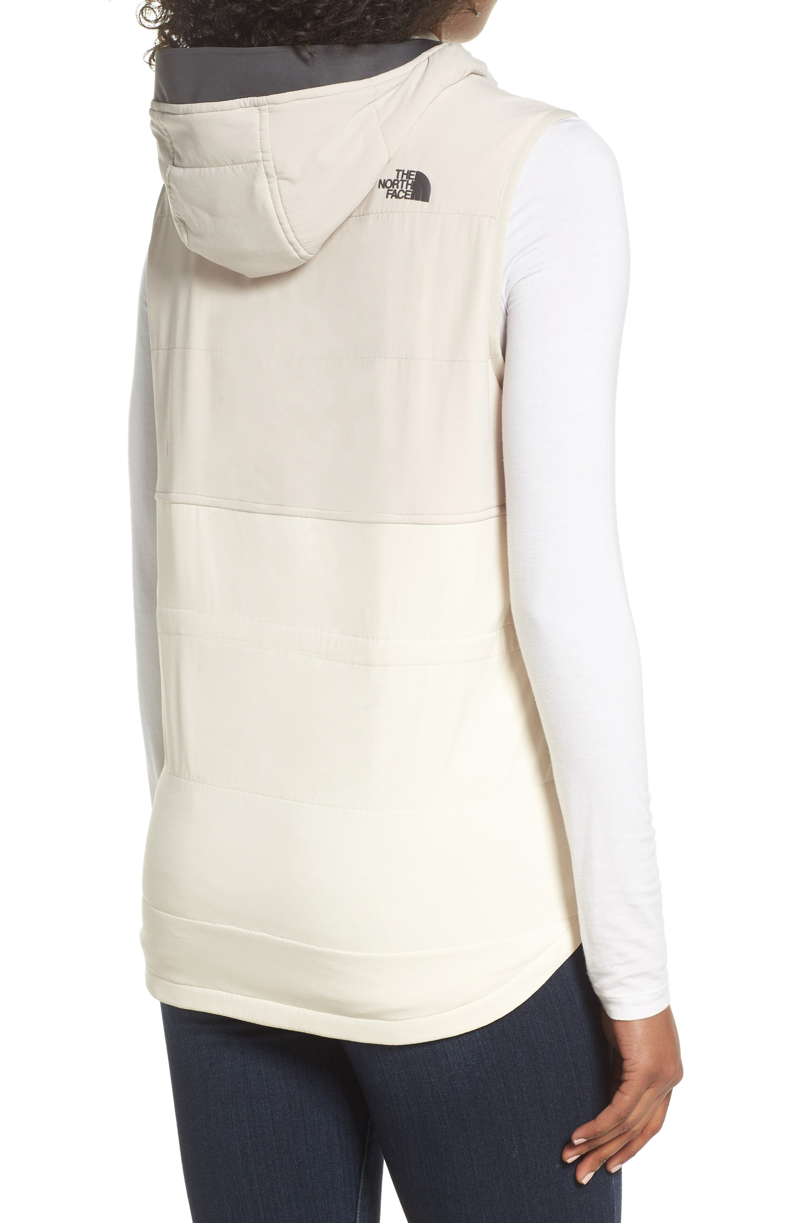 Mountain Sweatshirt Insulated Hooded Vest,                             Alternate thumbnail 9, color,