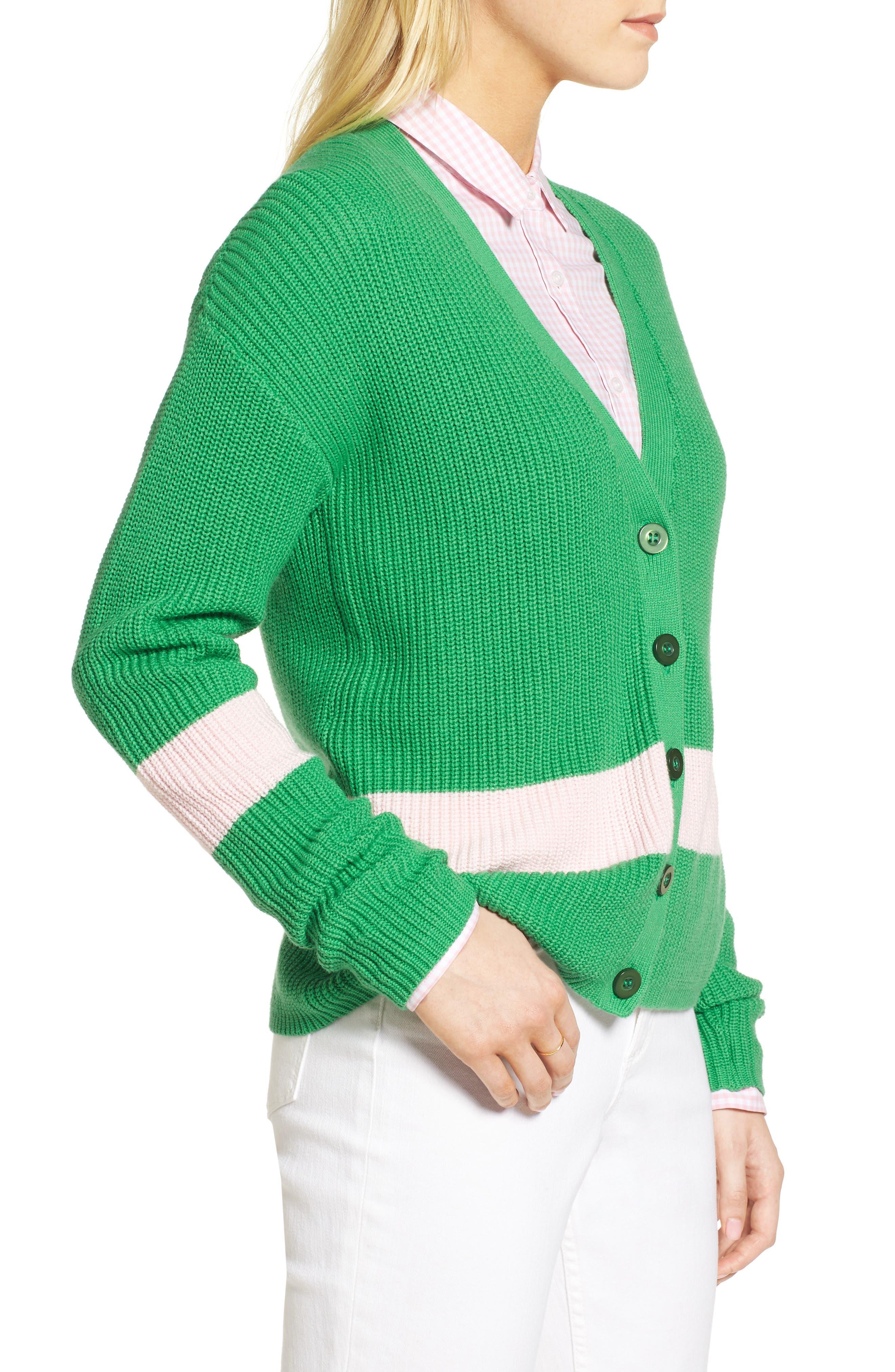 Shaker Knit Cardigan,                             Alternate thumbnail 16, color,