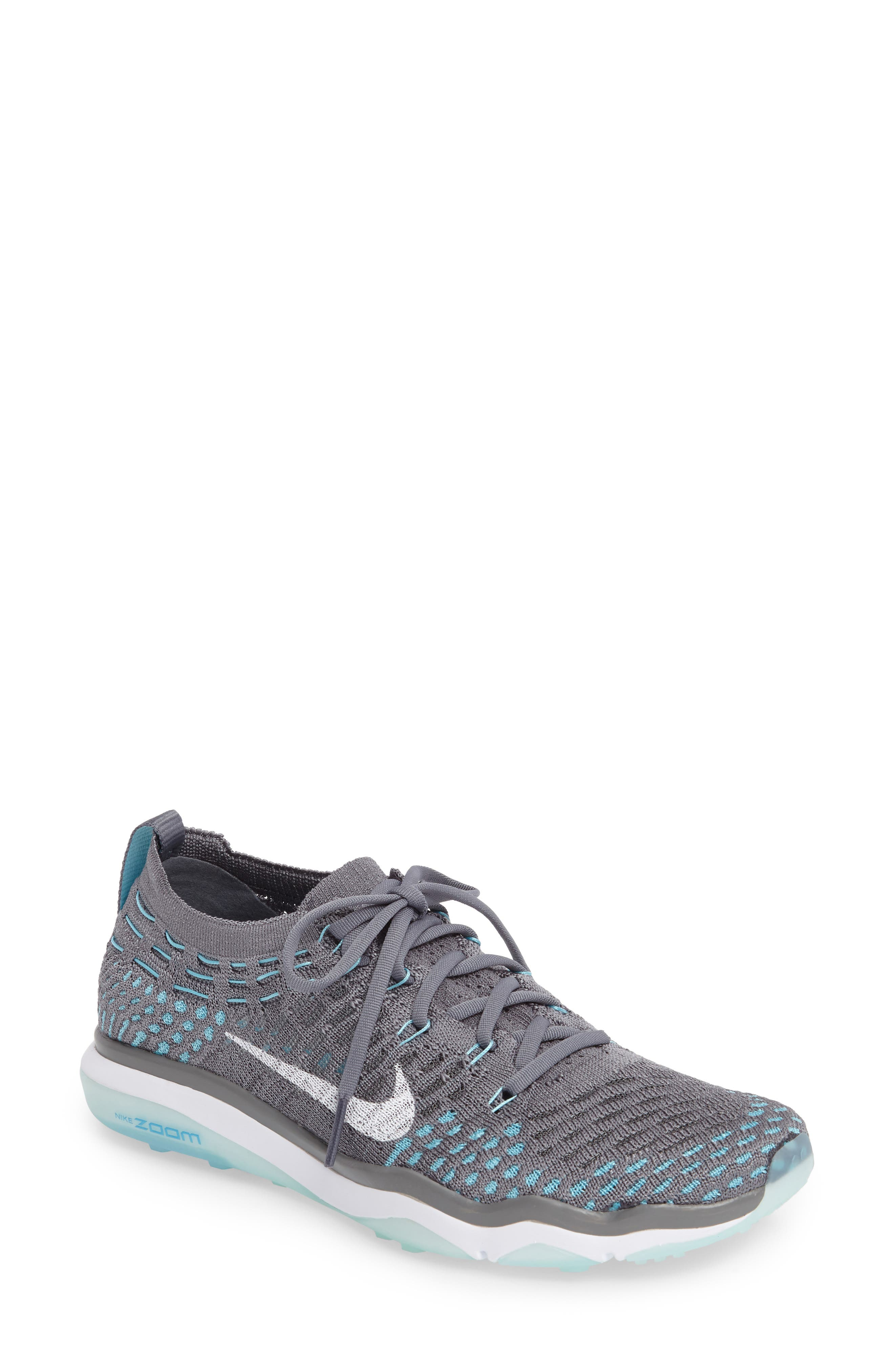 Air Zoom Fearless Flyknit Training Shoe,                             Main thumbnail 7, color,