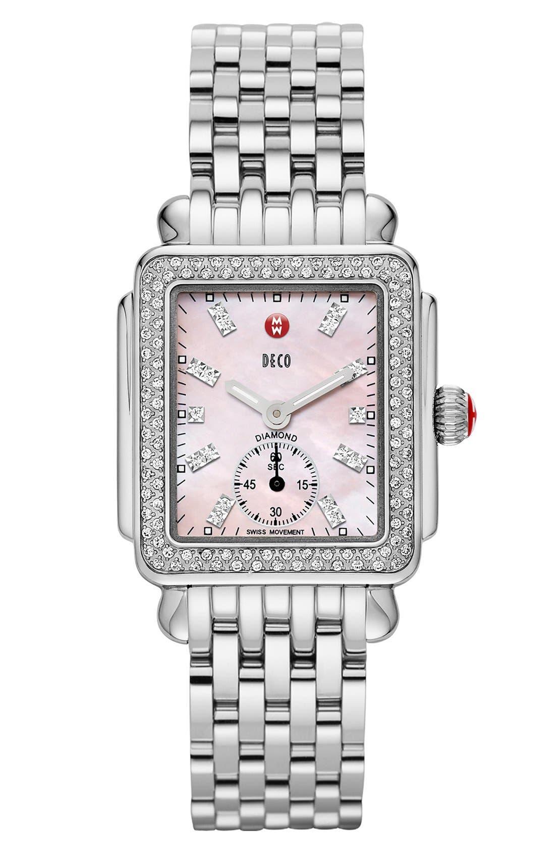 Deco 16 16mm Bracelet Watchband,                             Alternate thumbnail 6, color,                             040