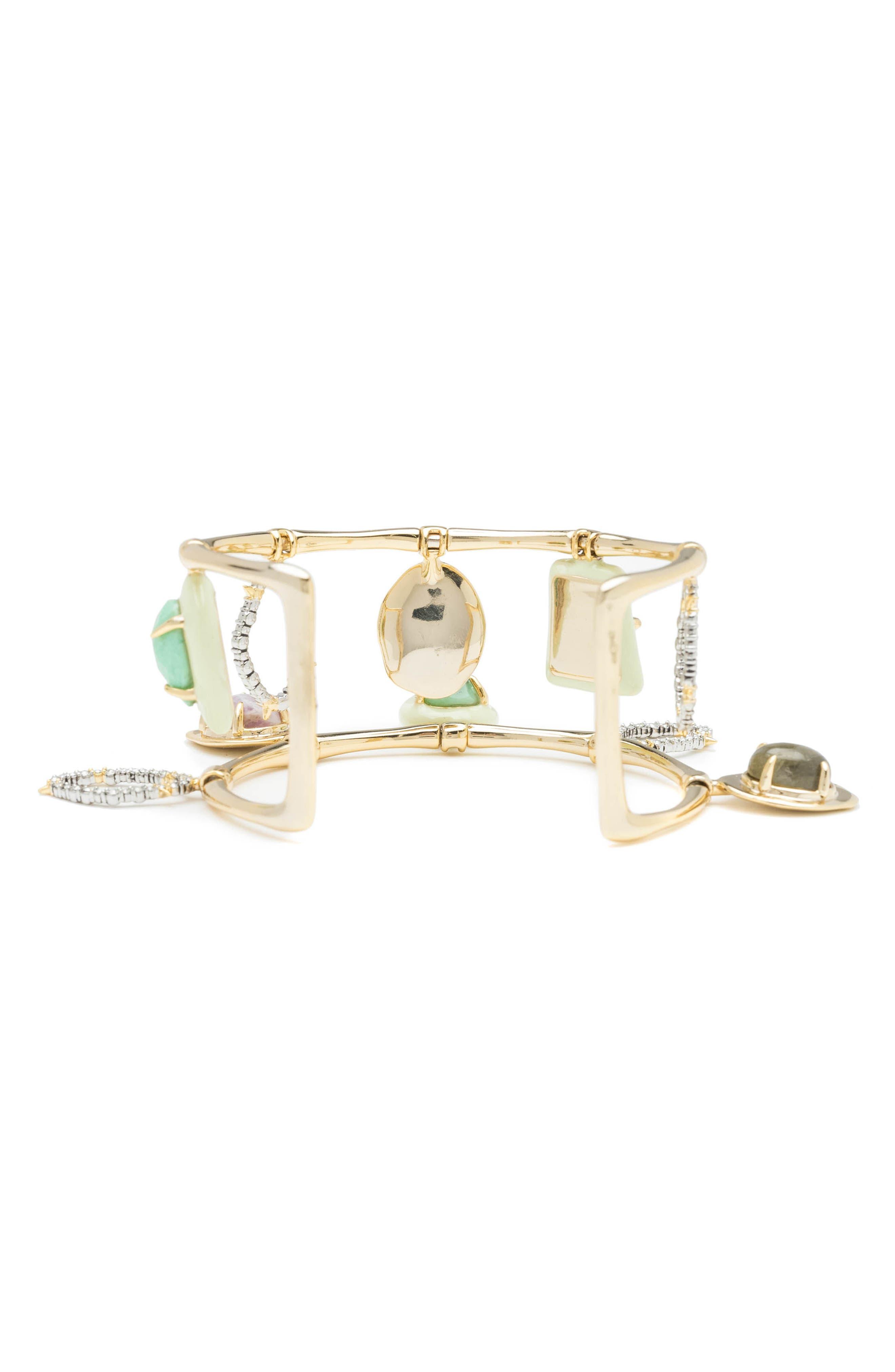 Swinging Stone Cuff Bracelet,                             Alternate thumbnail 2, color,                             710