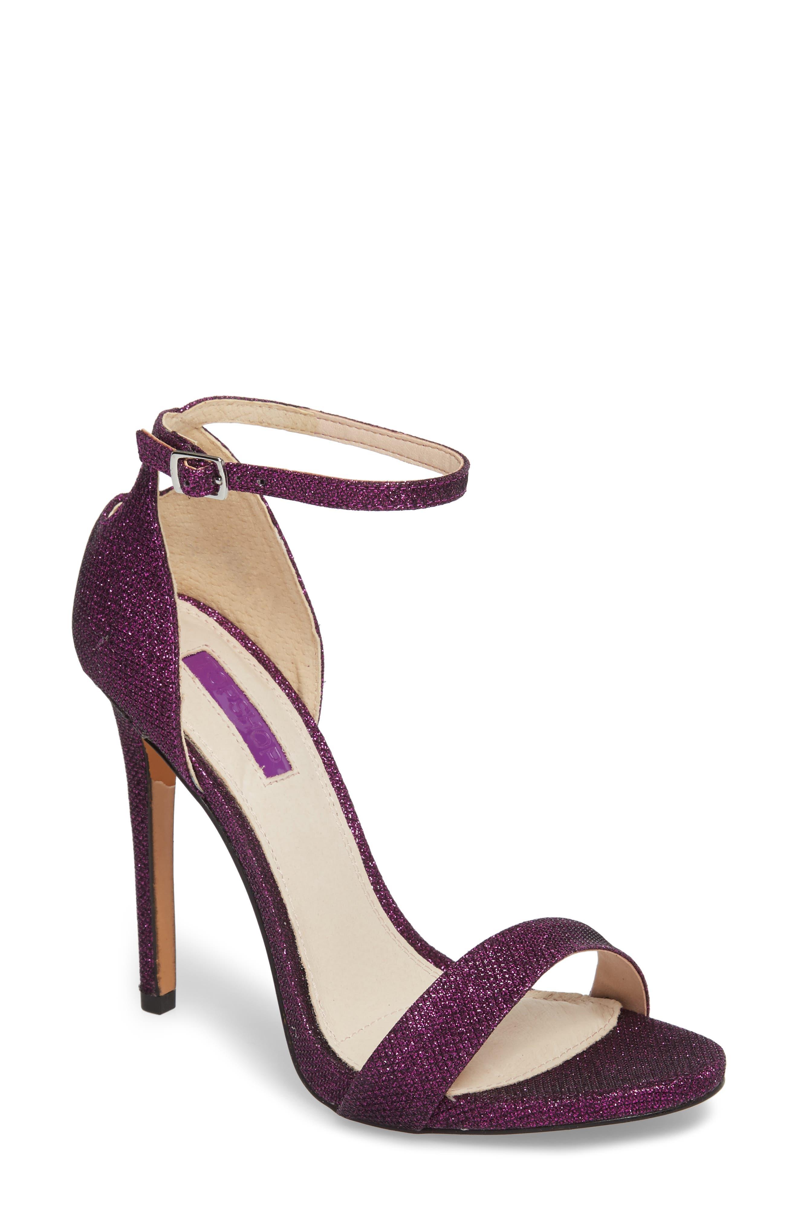 Raphie Ankle Strap Sandal,                             Main thumbnail 1, color,                             PURPLE