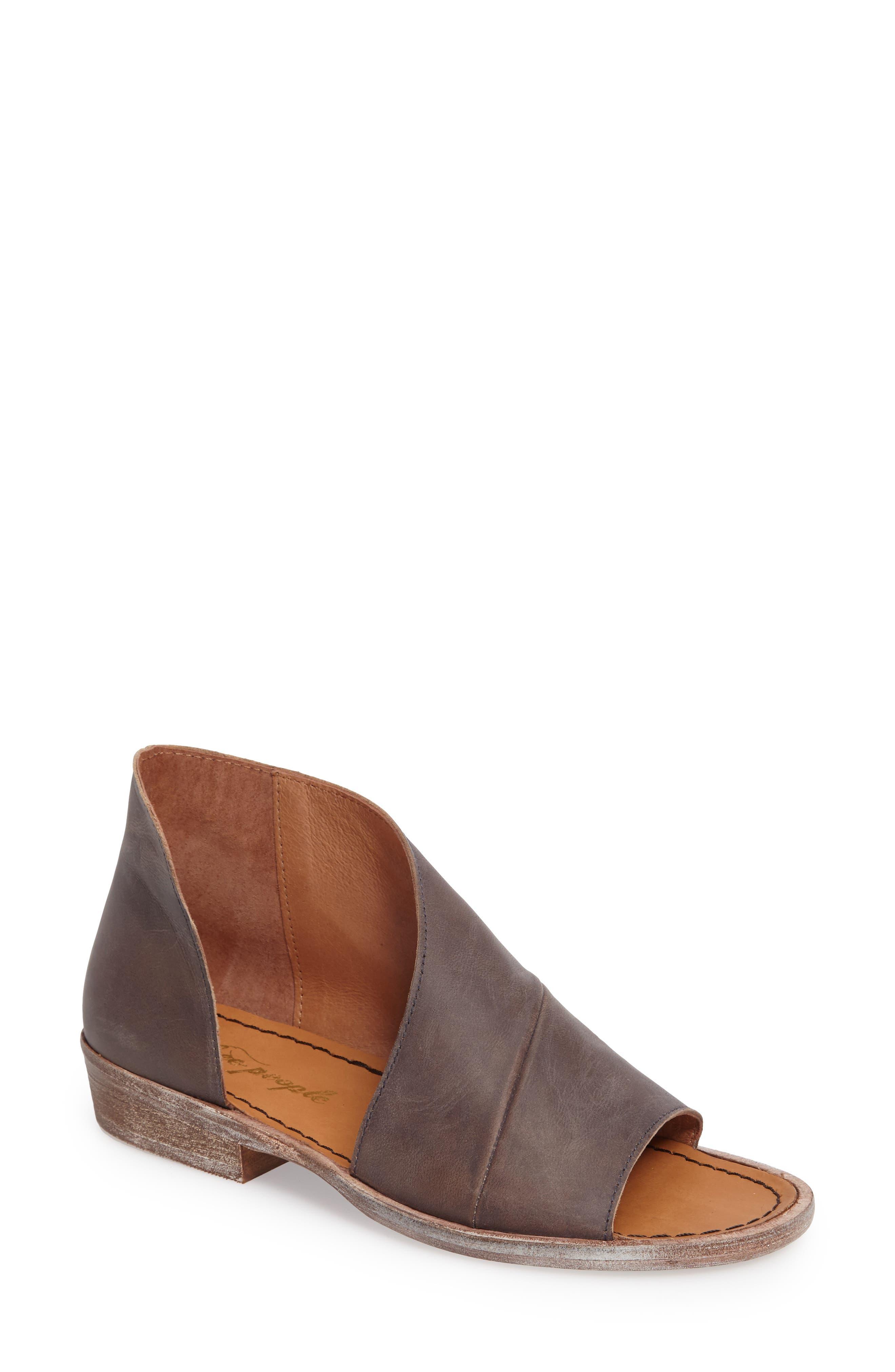 'Mont Blanc' Asymmetrical Sandal,                             Main thumbnail 8, color,