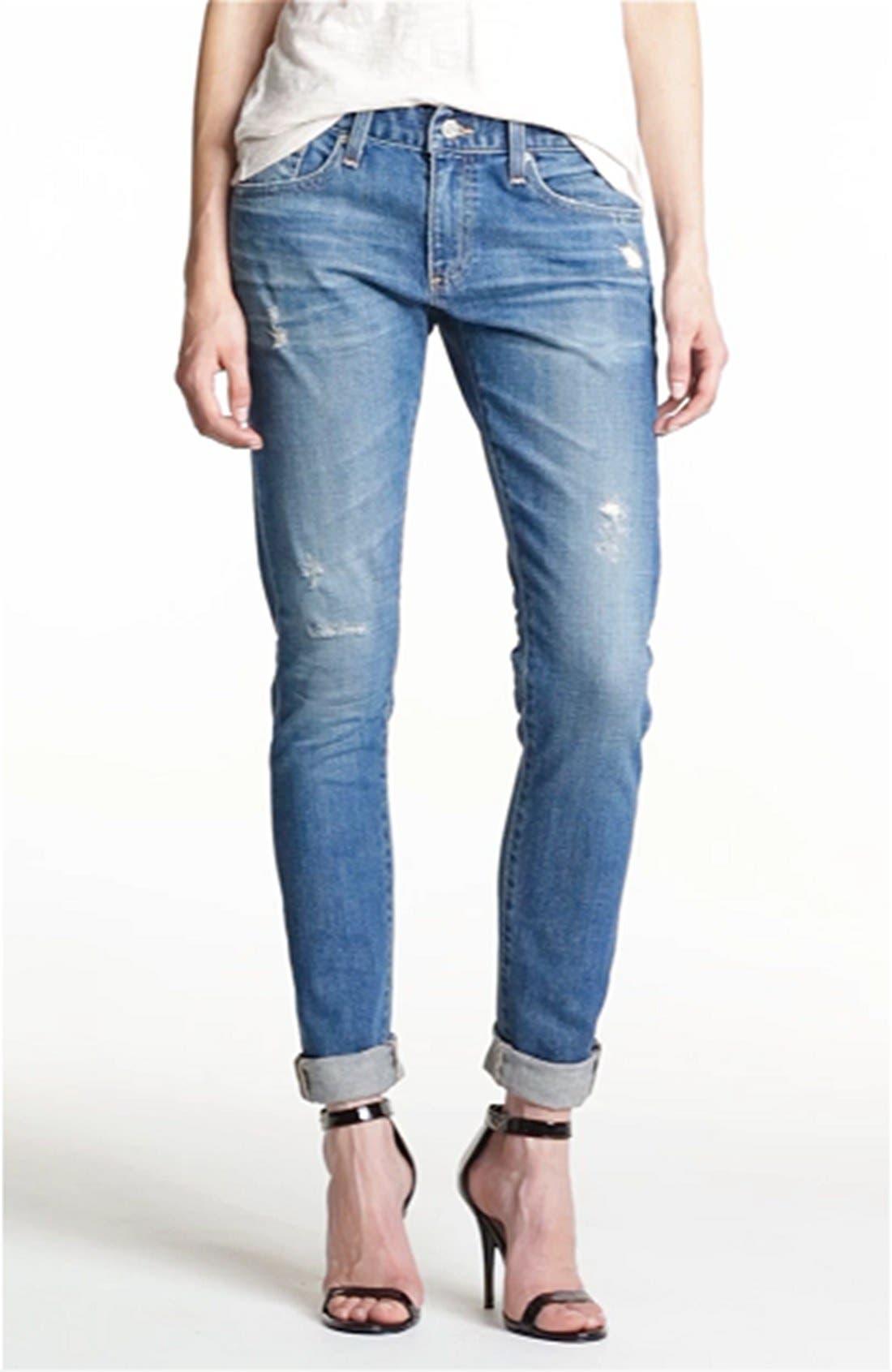 AG,                             'Nikki' Relaxed Skinny Jeans,                             Alternate thumbnail 2, color,                             453