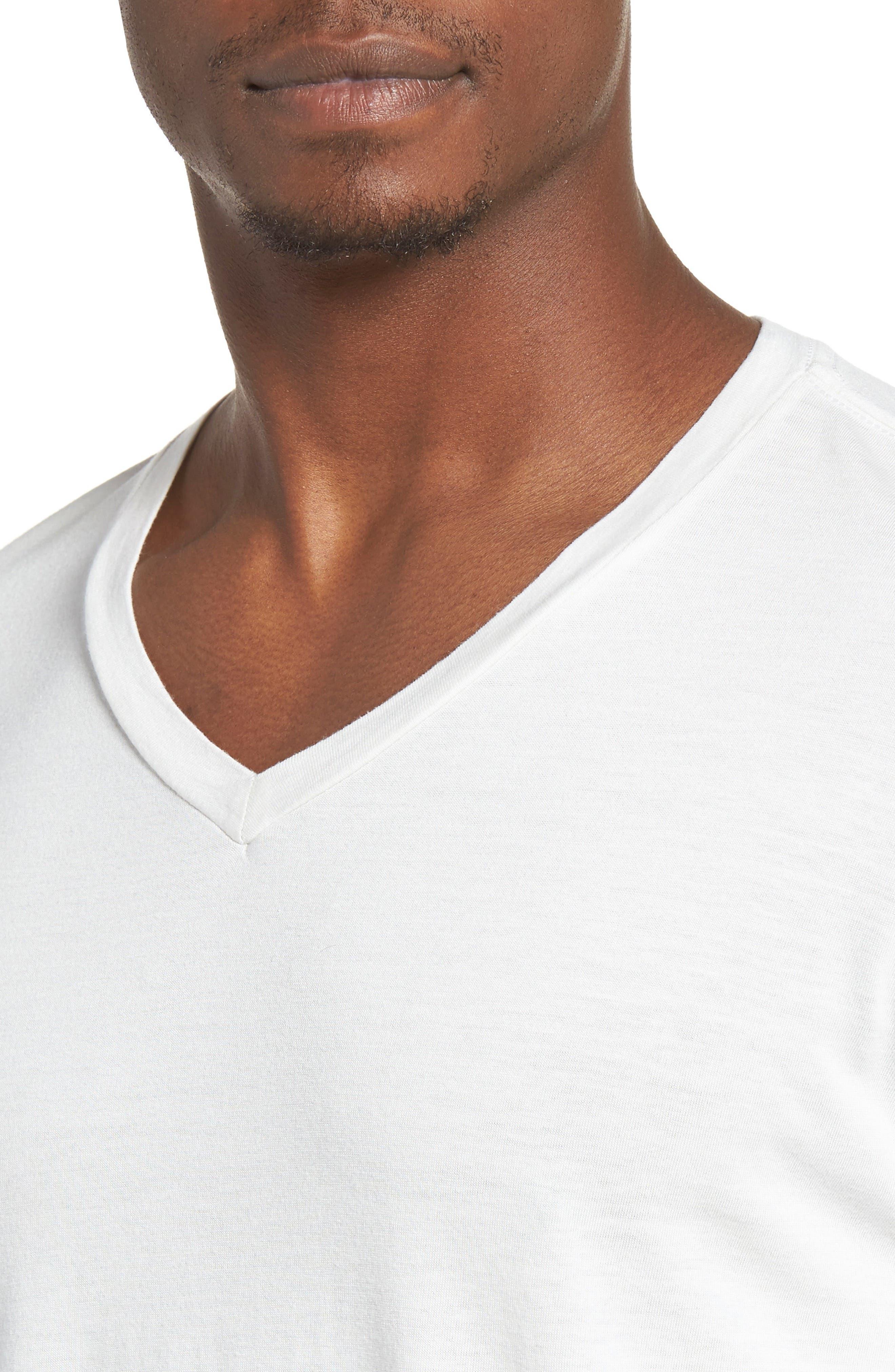 Essential V-Neck T-Shirt,                             Alternate thumbnail 36, color,
