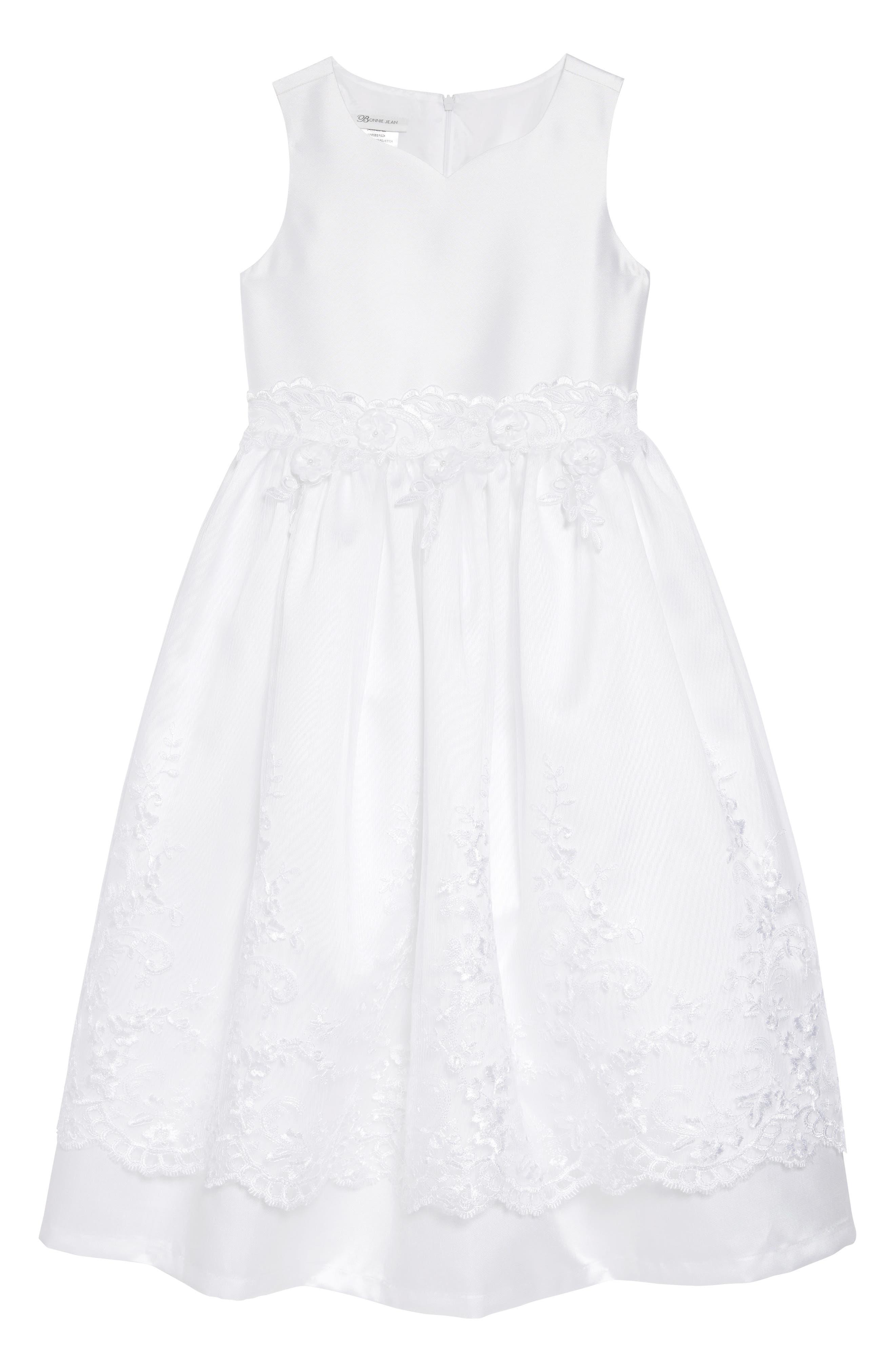 Sweetheart Fit & Flare Mikado Dress & Jacket Set,                             Alternate thumbnail 2, color,                             WHITE