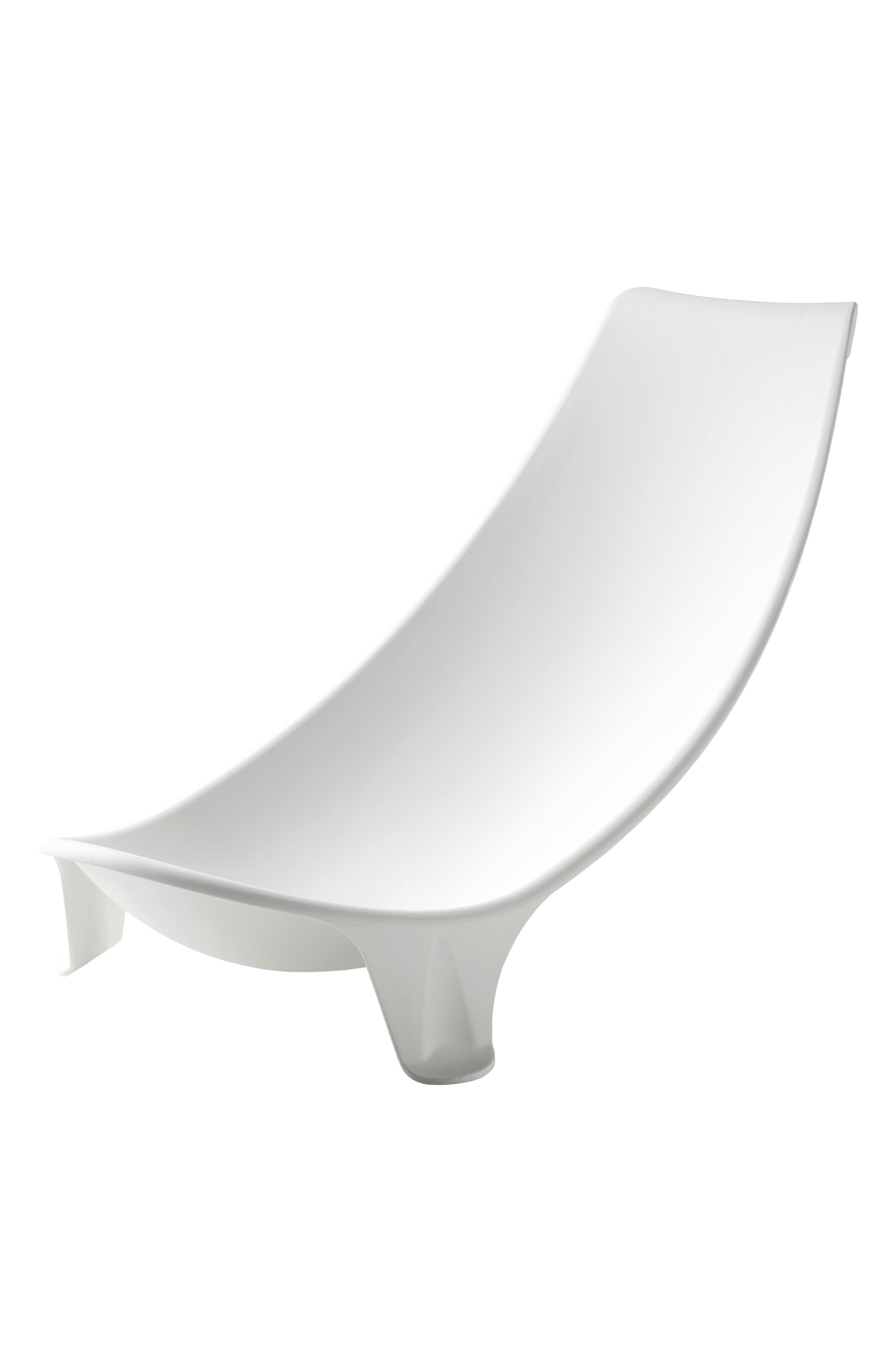 'Flexi Bath<sup>®</sup>' Newborn Support,                             Alternate thumbnail 5, color,                             WHITE
