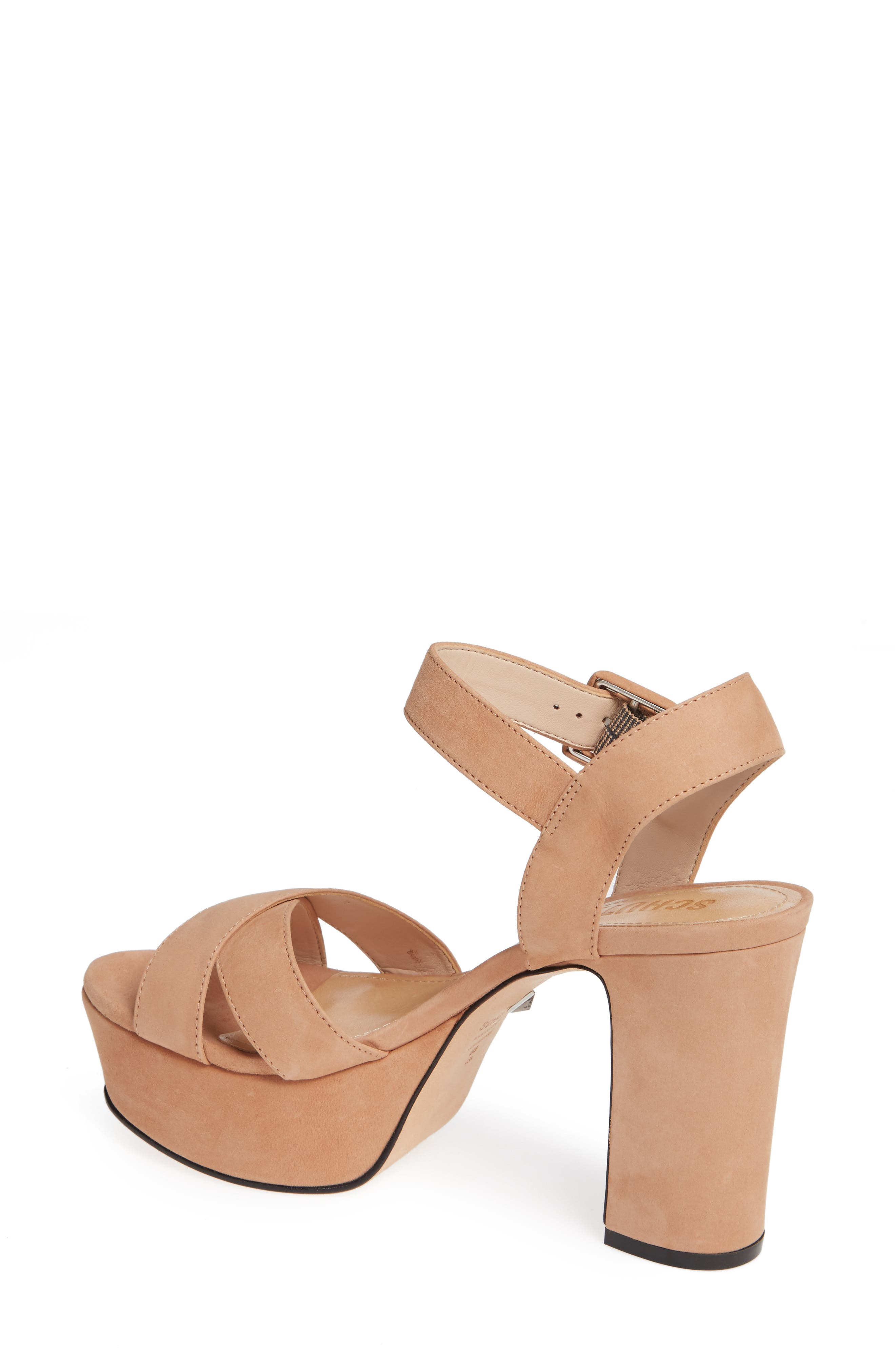 Tulia Sandal,                             Alternate thumbnail 2, color,                             HONEY BEIGE NUBUCK