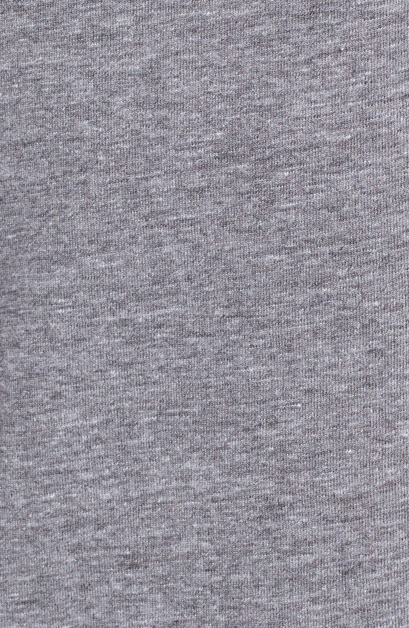 Jolt T-Shirt,                             Alternate thumbnail 5, color,                             HEATHER GREY/ WHITE