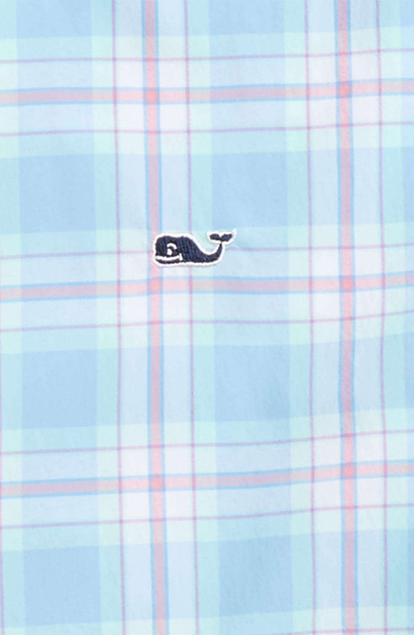 Montauk Point Performance Whale Shirt,                             Alternate thumbnail 2, color,                             484