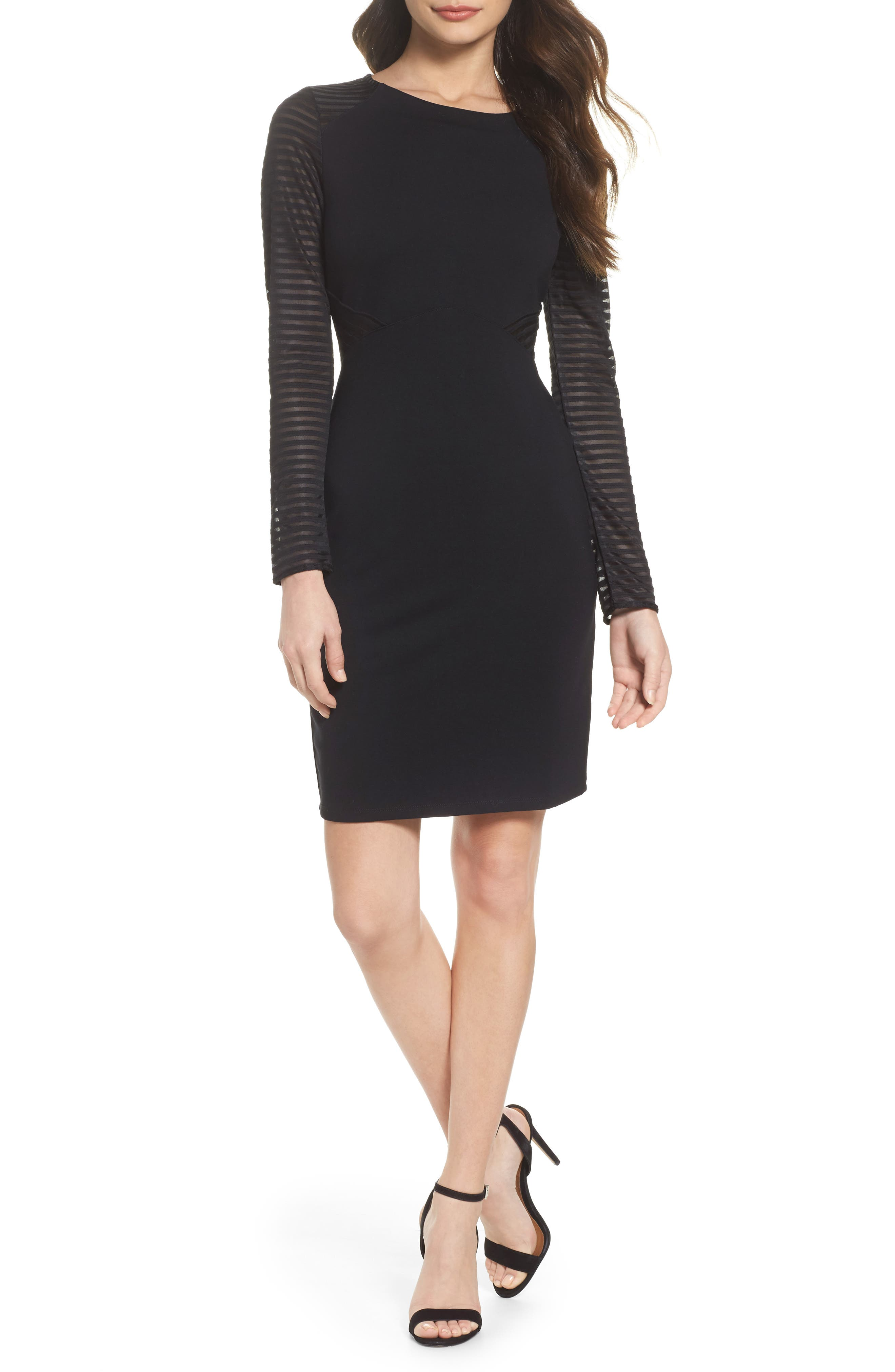 Thiestis Body-Con Dress,                         Main,                         color, 002