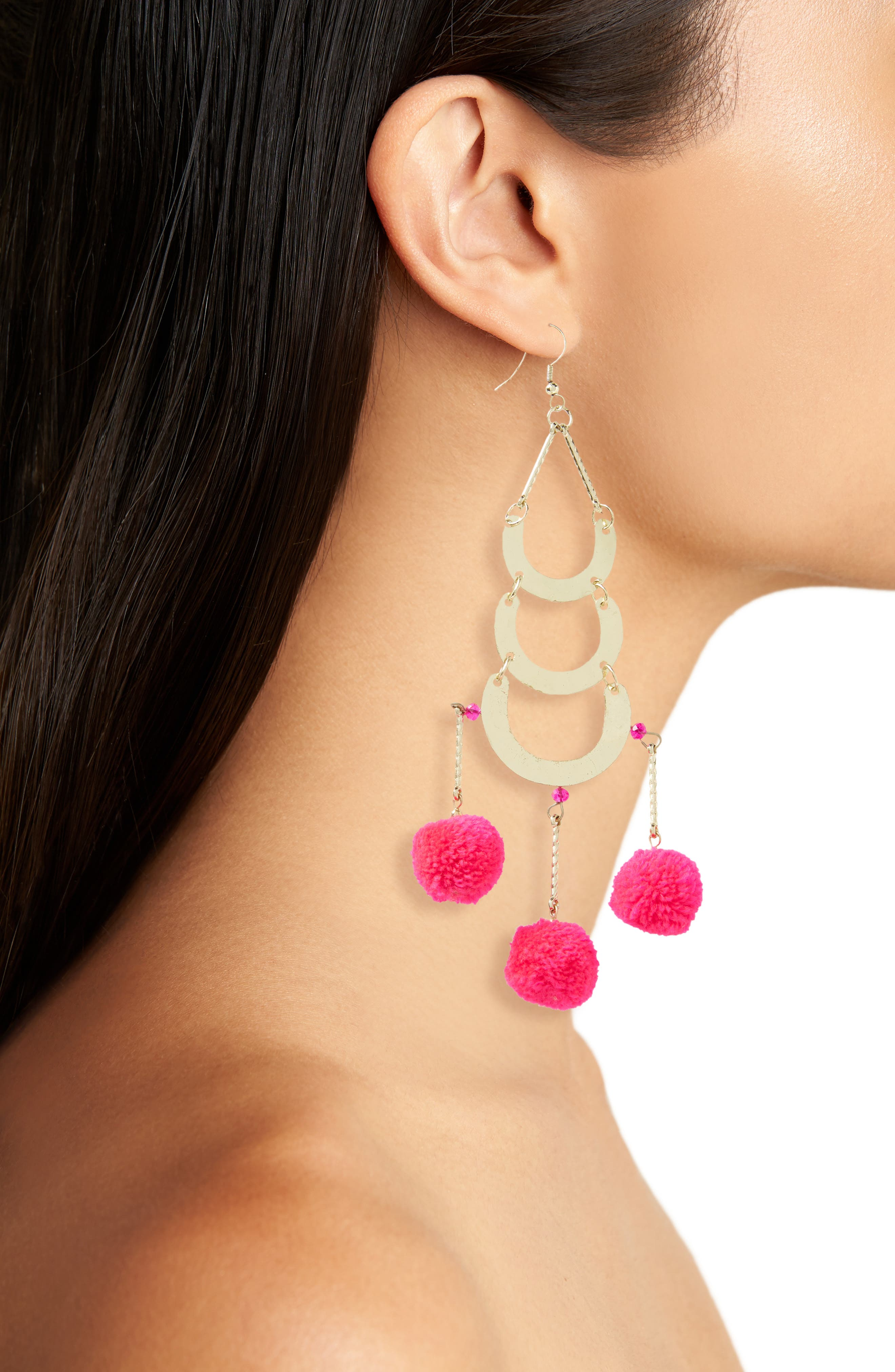 Balboa Earrings,                             Alternate thumbnail 2, color,