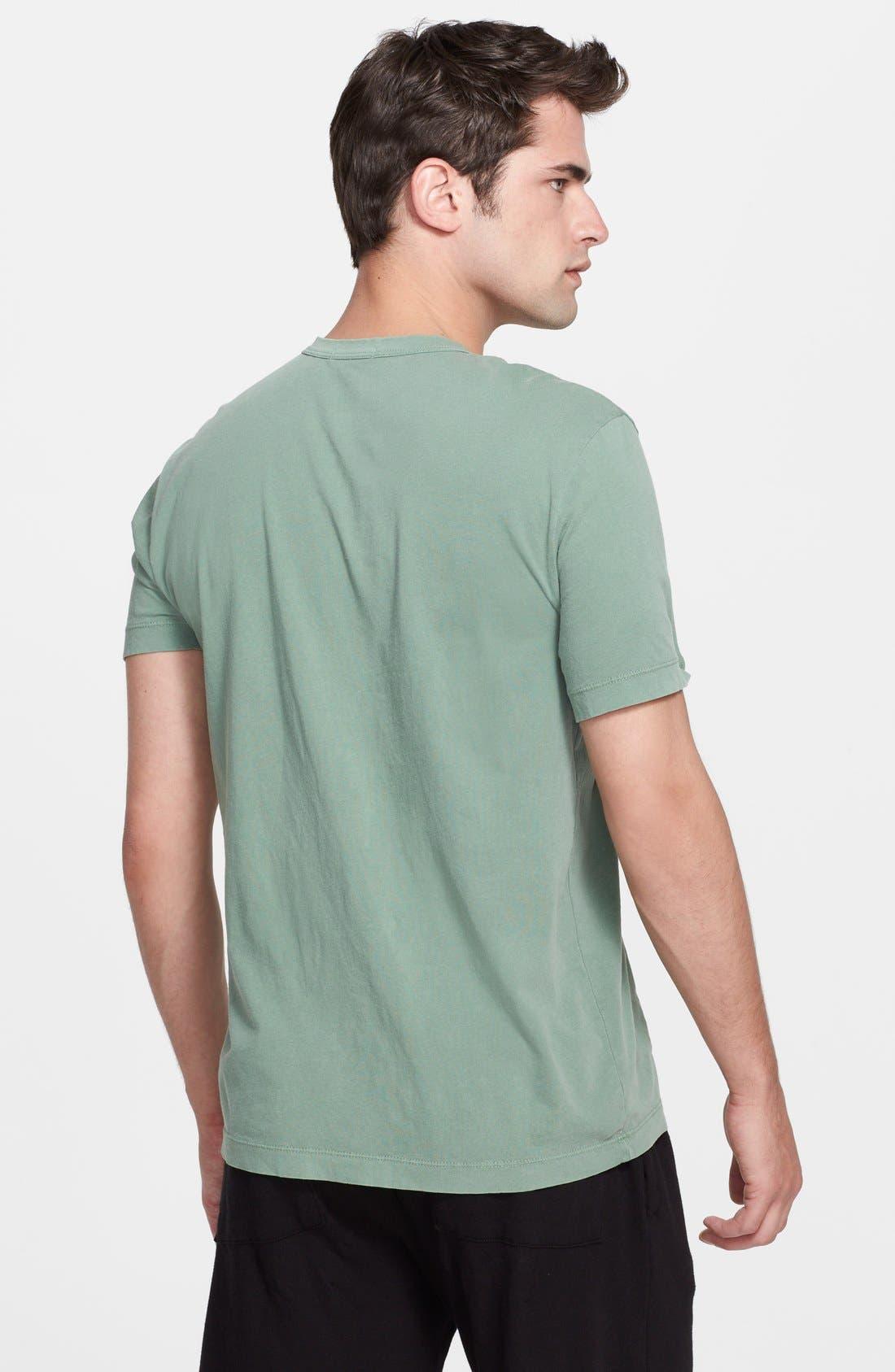 Crewneck Jersey T-Shirt,                             Alternate thumbnail 274, color,