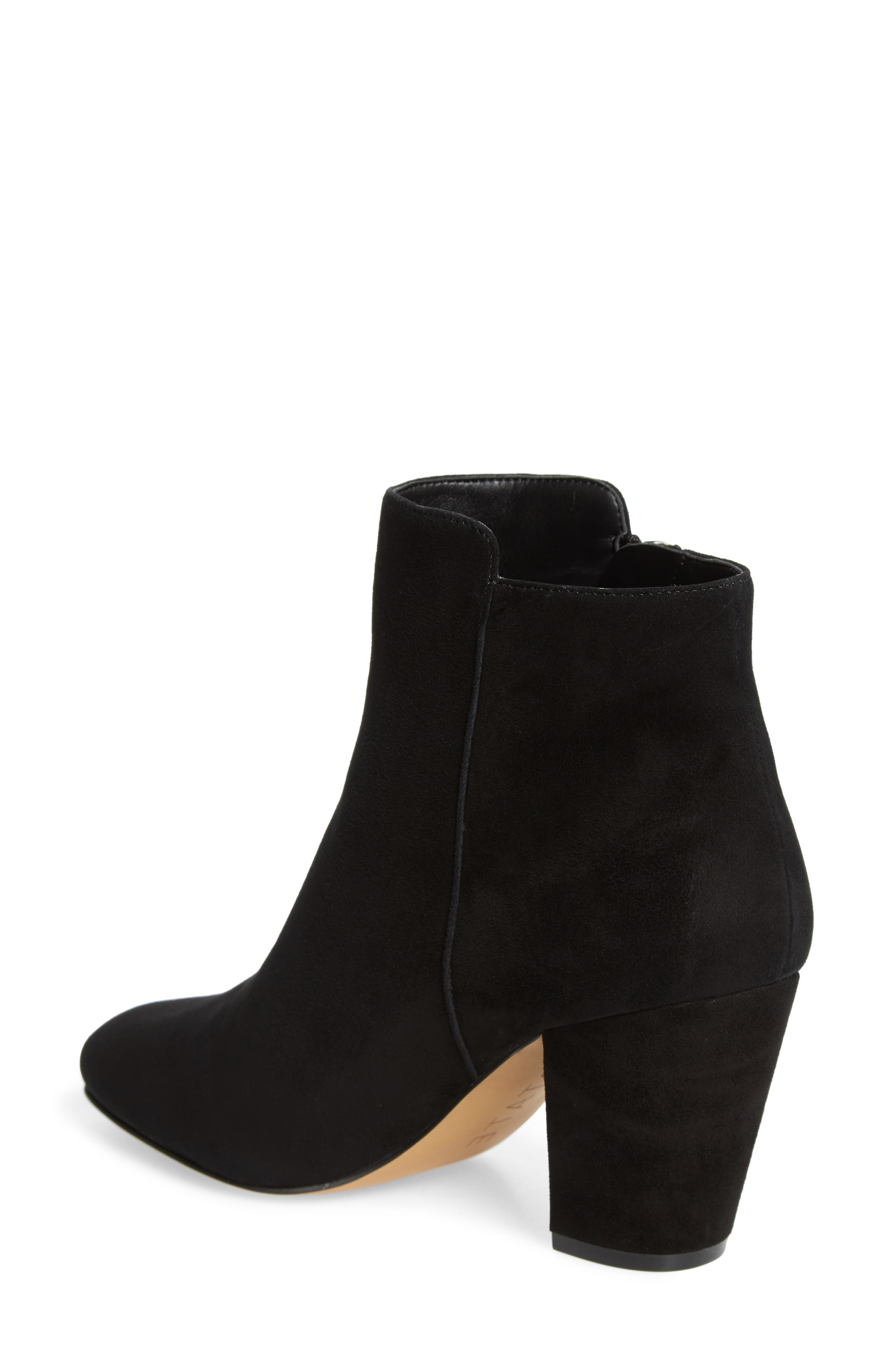 1.STATE,                             Preete Bootie,                             Alternate thumbnail 2, color,                             BLACK SUEDE