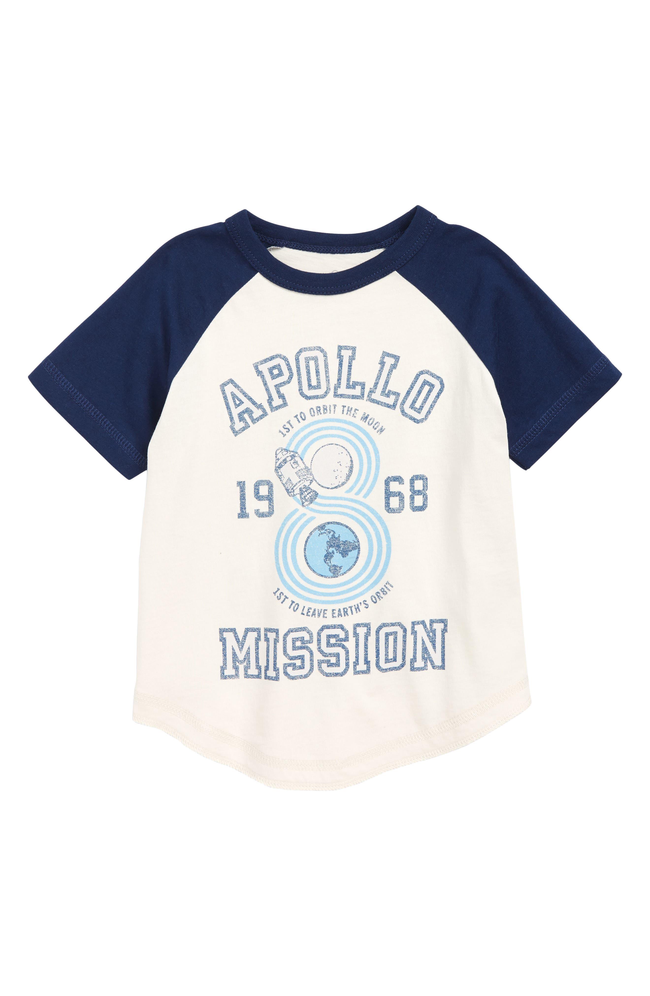 Apollo Graphic T-Shirt,                         Main,                         color, WHITE