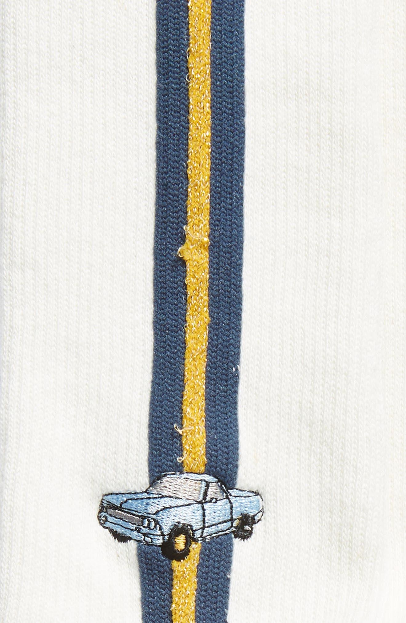 Camino Everyday Crew Socks,                             Alternate thumbnail 2, color,                             IVORY