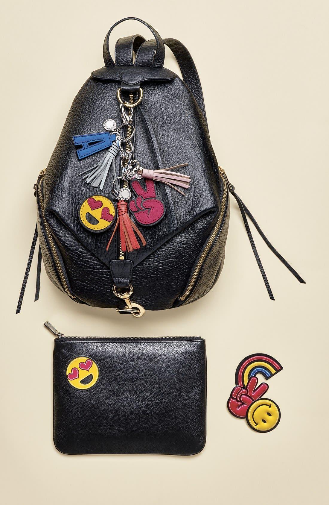 Initial Bag Charm,                             Alternate thumbnail 2, color,                             001