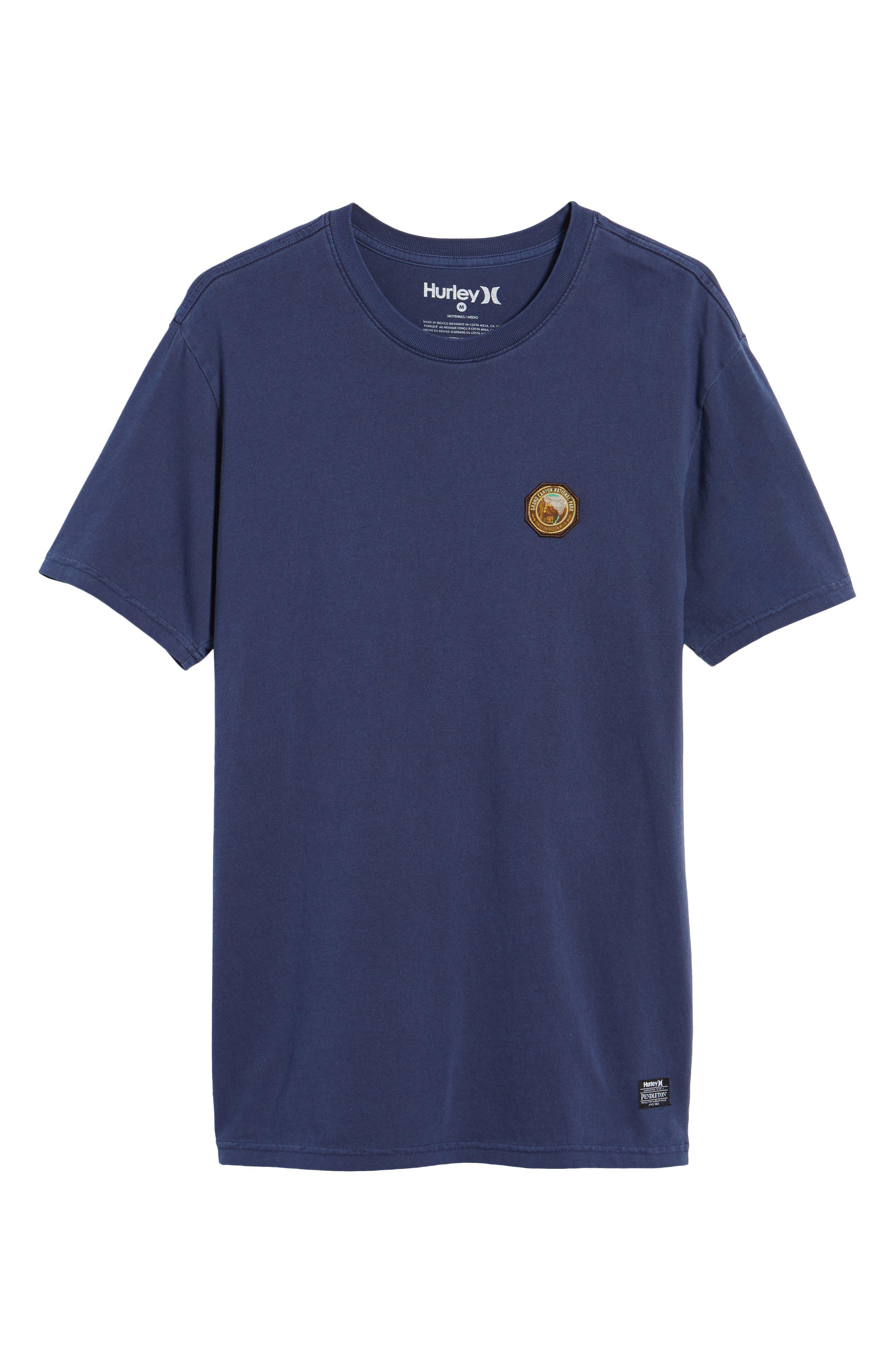 x Pendleton Grand Canyon Patch T-Shirt,                             Alternate thumbnail 6, color,
