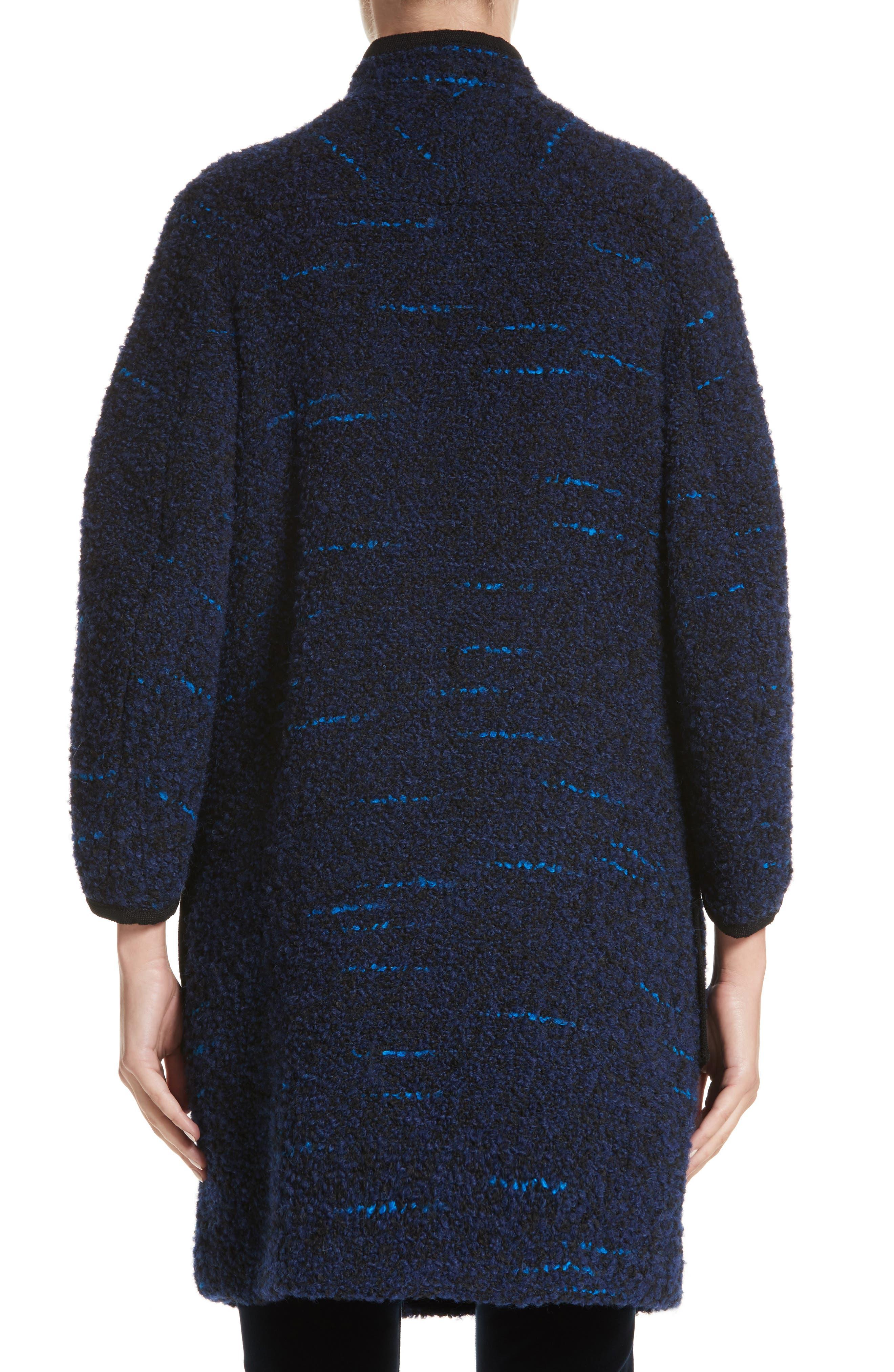 Wool Blend Swing Coat,                             Alternate thumbnail 2, color,                             400
