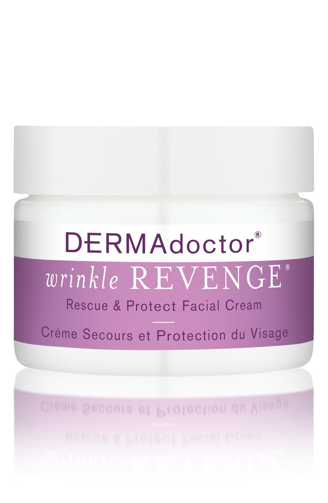 'wrinkle REVENGE<sup>®</sup>' Rescue & Protect Facial Cream,                         Main,                         color, NO COLOR