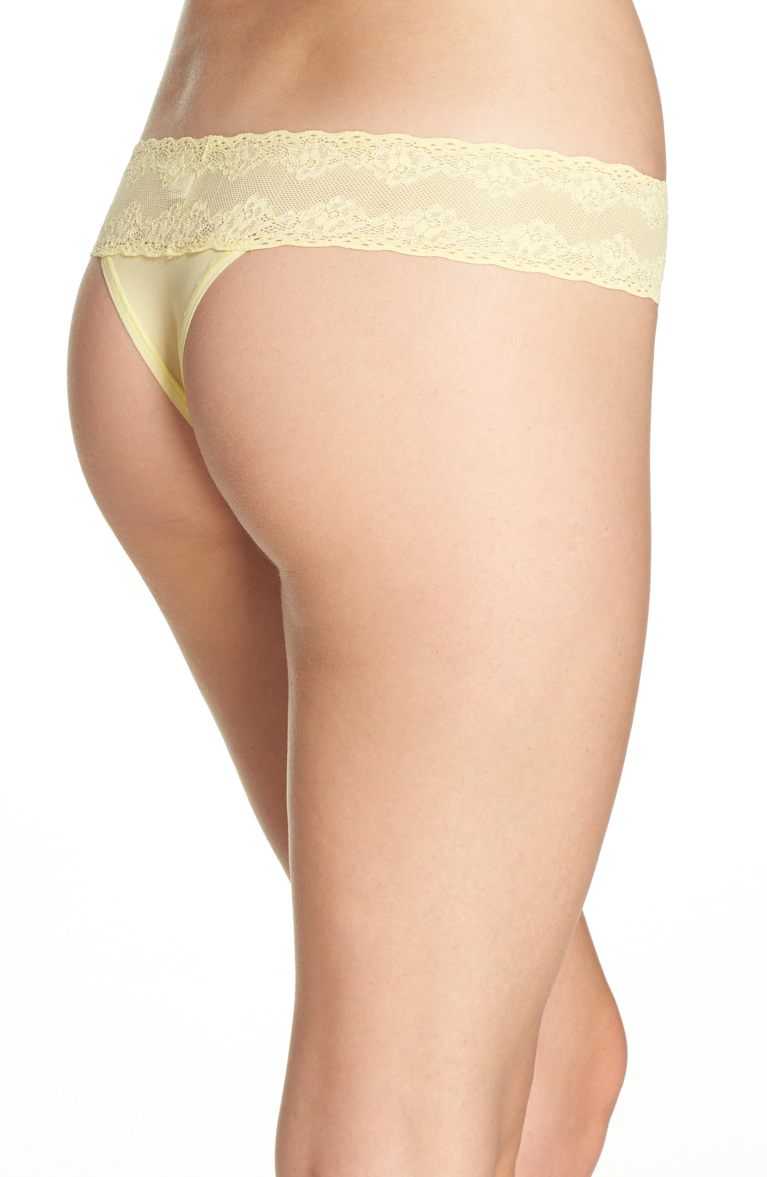 Bliss Perfection Thong,                             Alternate thumbnail 191, color,