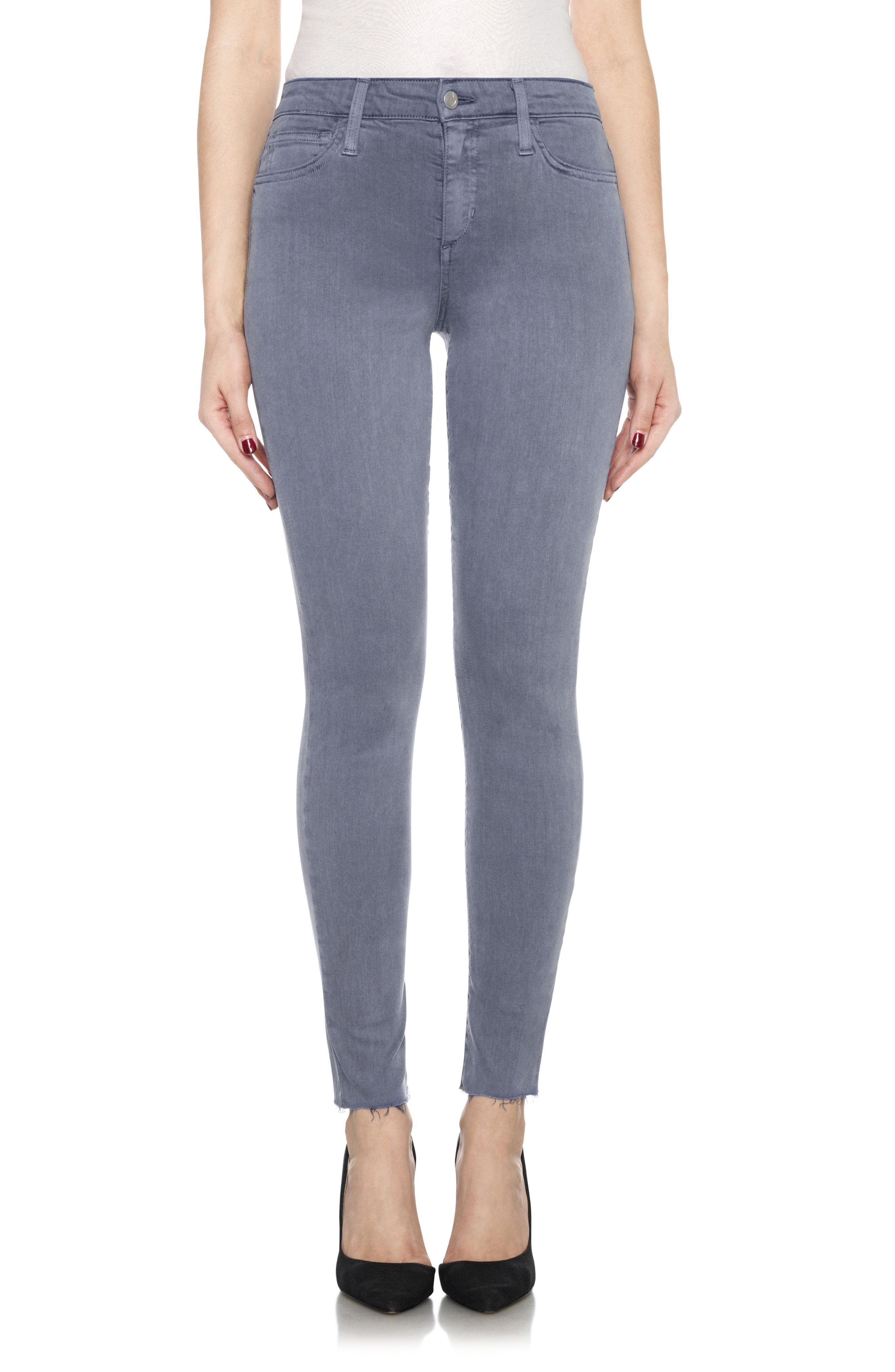 Charlie High Rise Ankle Skinny Jeans,                             Main thumbnail 6, color,