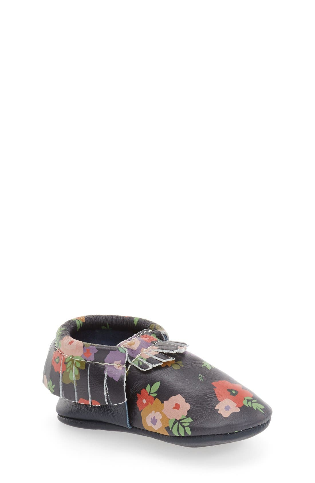 FRESHLY PICKED,                             Flower Print Moccasin,                             Main thumbnail 1, color,                             411