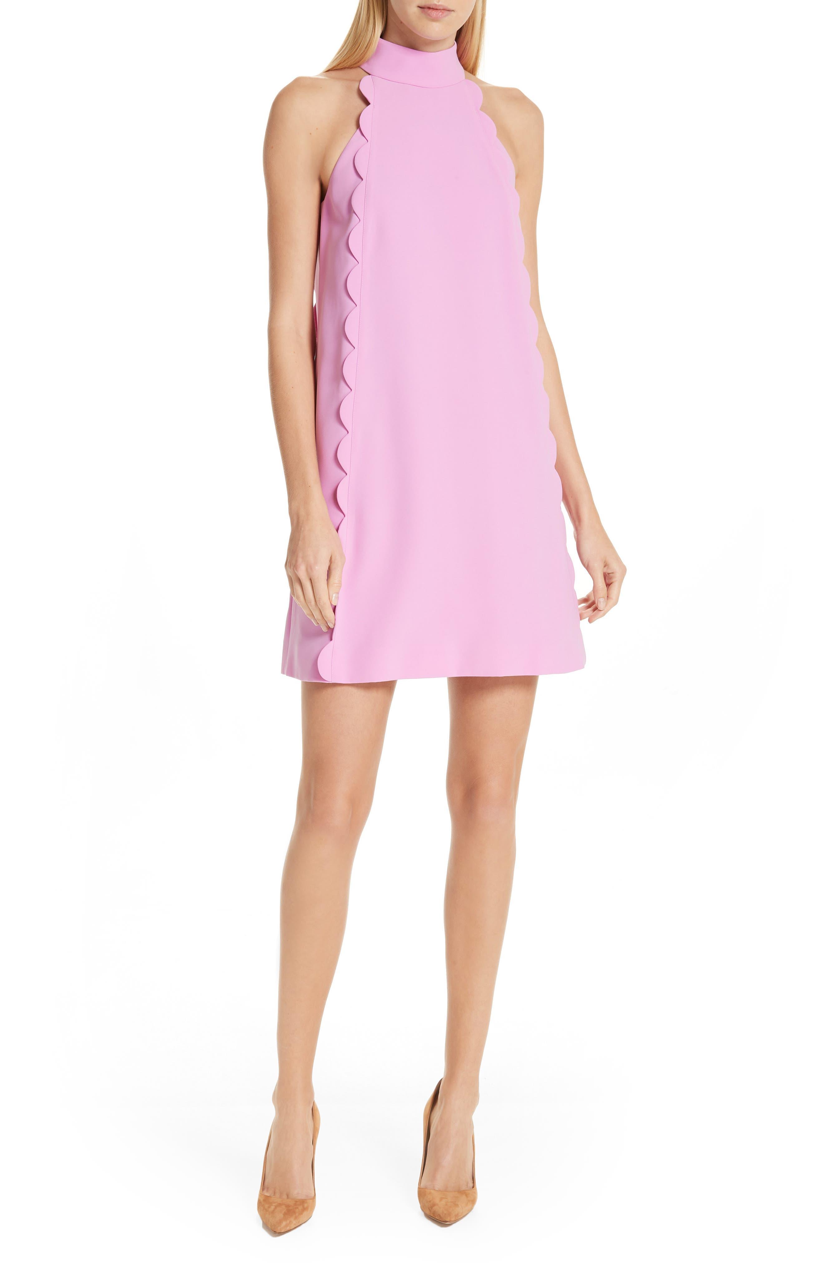 Ted Baker London Torrii High Neck Tunic Dress, Pink