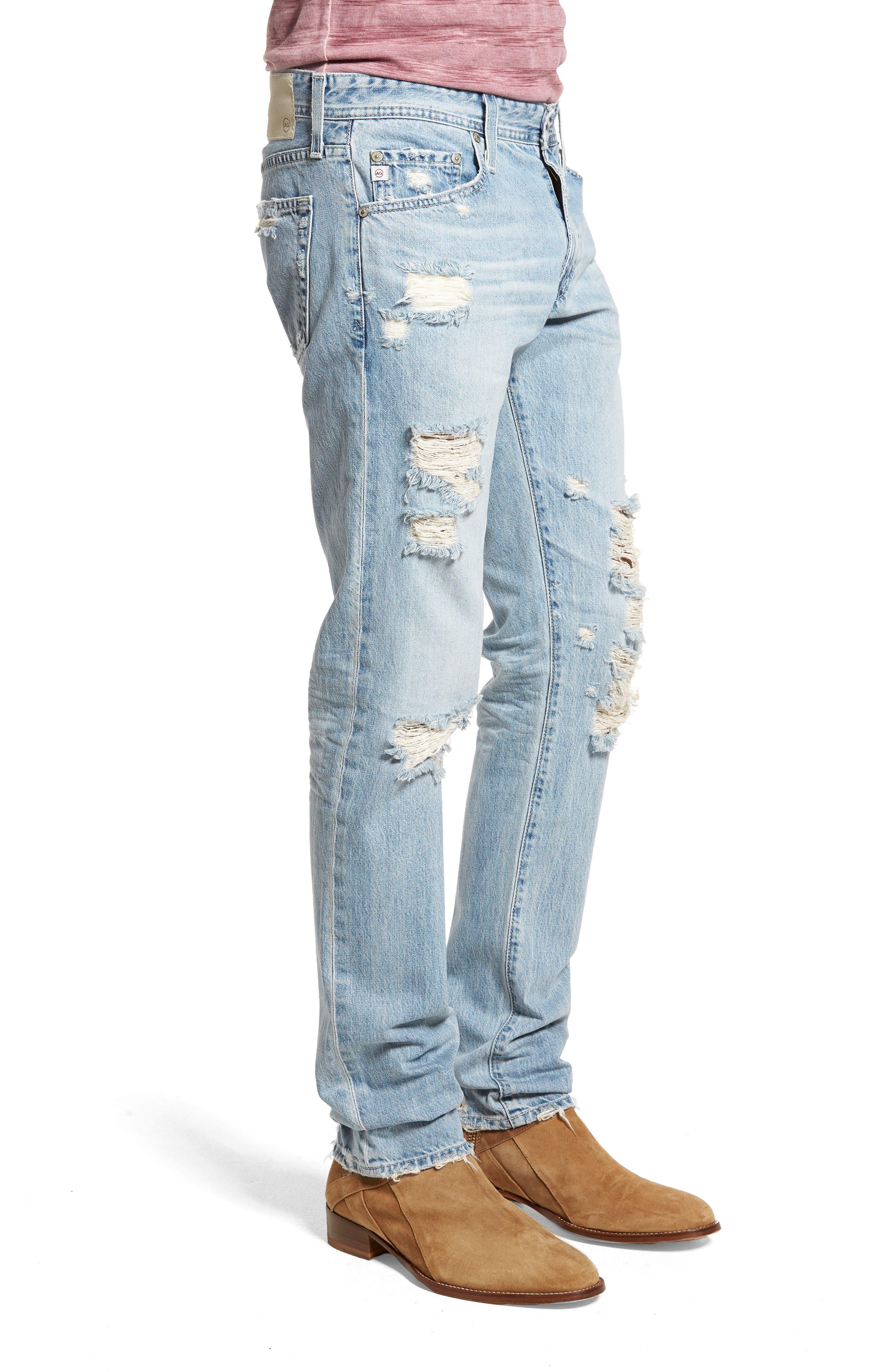 Tellis Slim Fit Jeans,                             Alternate thumbnail 3, color,                             494